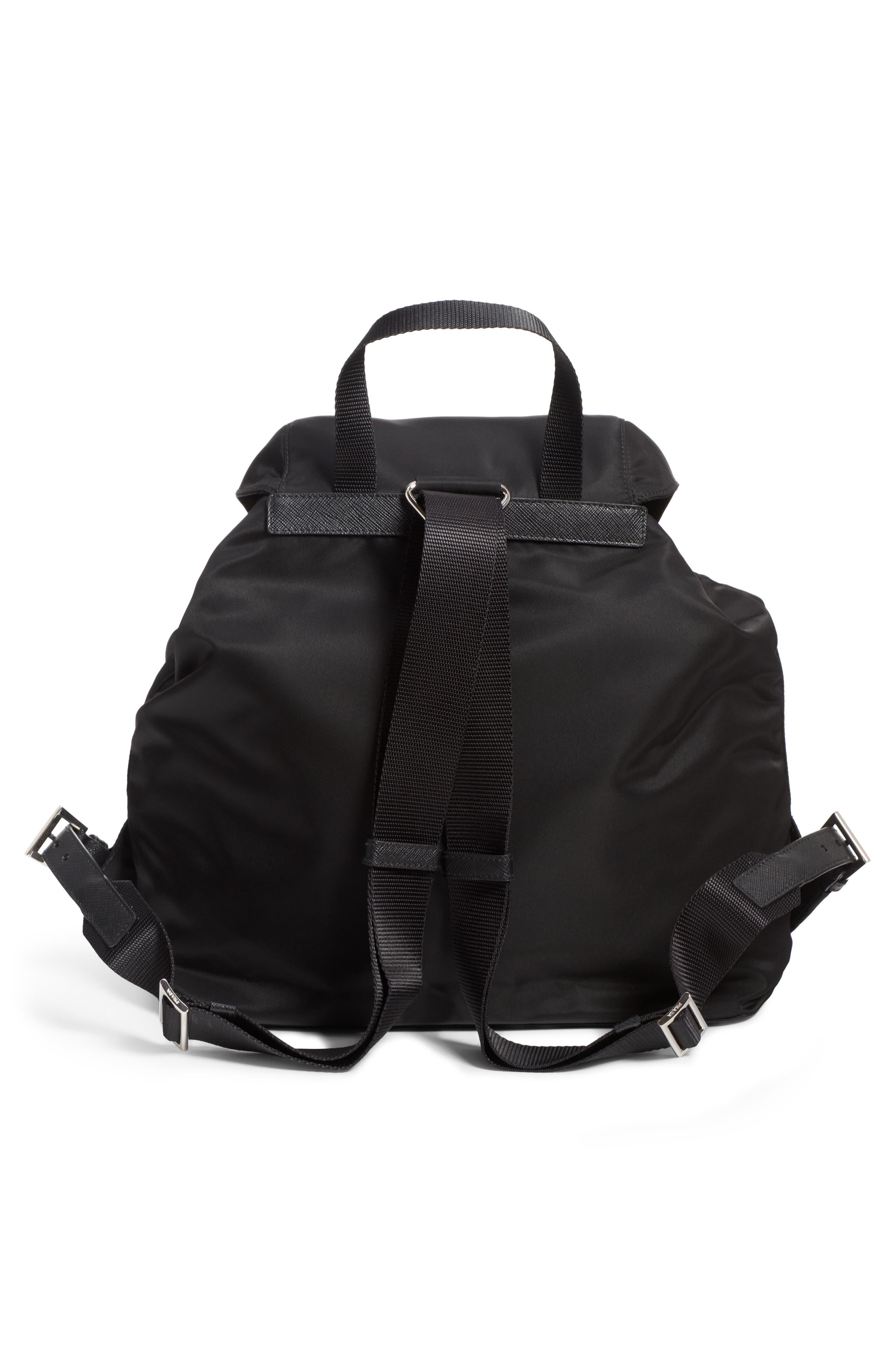 Embellished Nylon Backpack,                             Alternate thumbnail 2, color,                             001