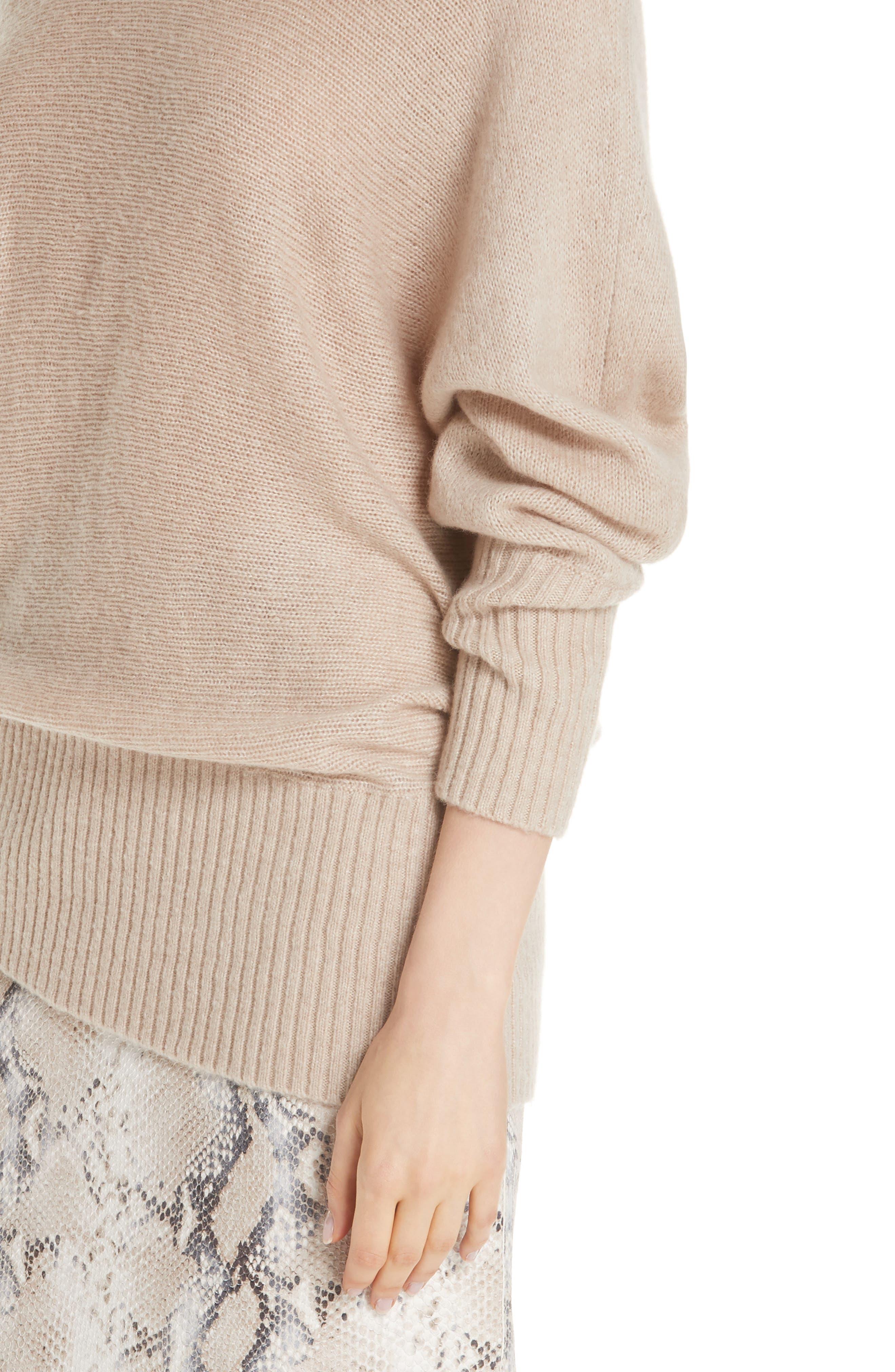 Cashmere Blend Dolman Sweater,                             Alternate thumbnail 4, color,                             250