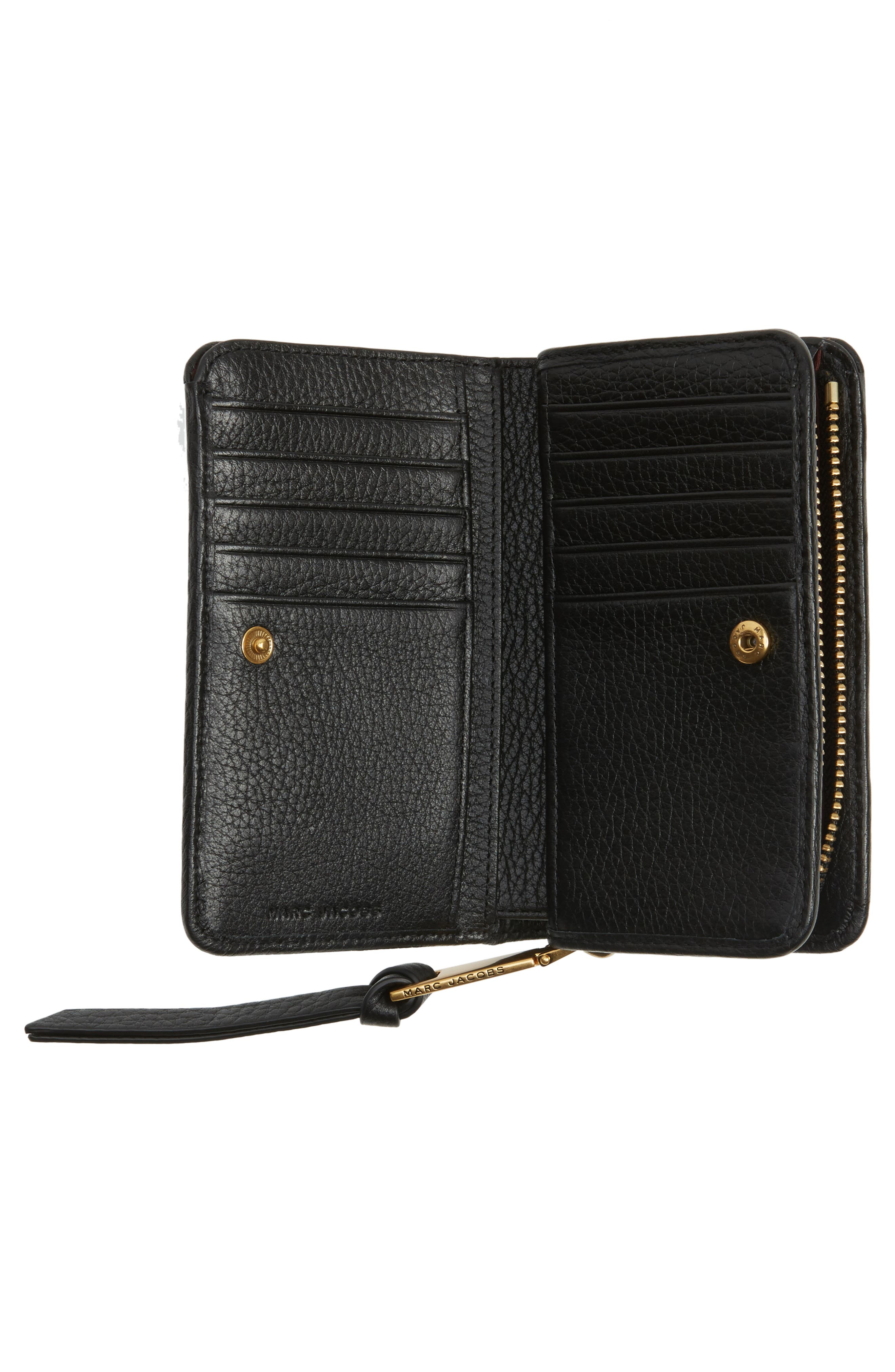 Recruit Compact Wallet,                             Alternate thumbnail 4, color,                             001