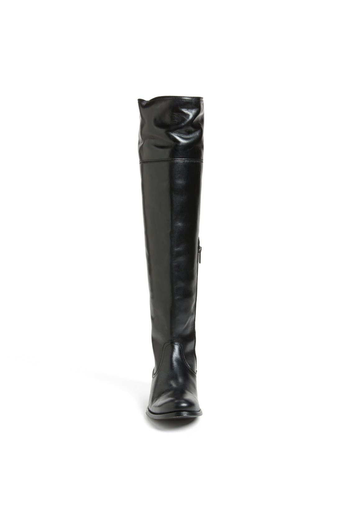 'Melissa' Over the Knee Boot,                             Alternate thumbnail 3, color,                             001