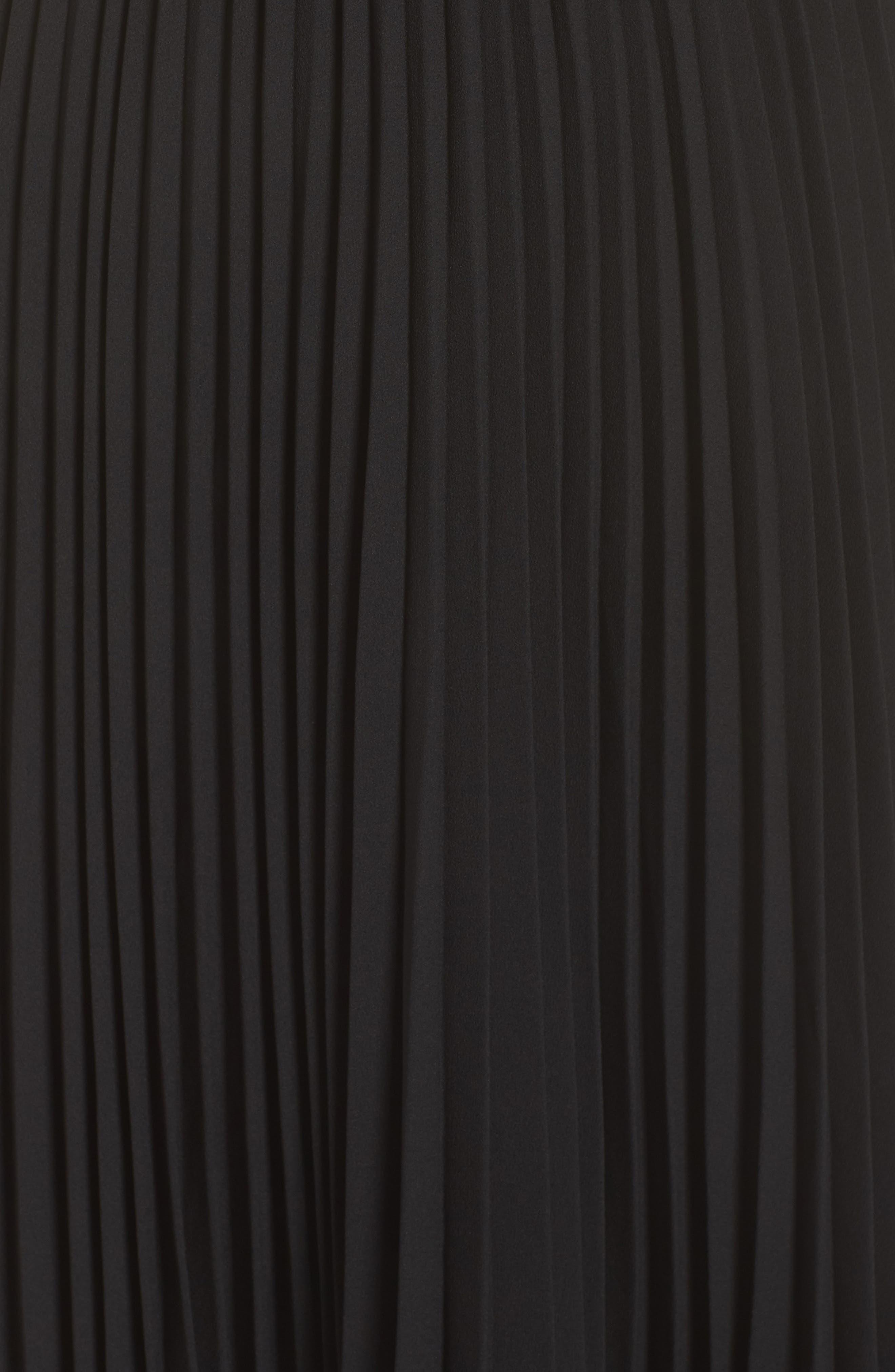 Lily Pond Faux Wrap Dress,                             Alternate thumbnail 5, color,                             001