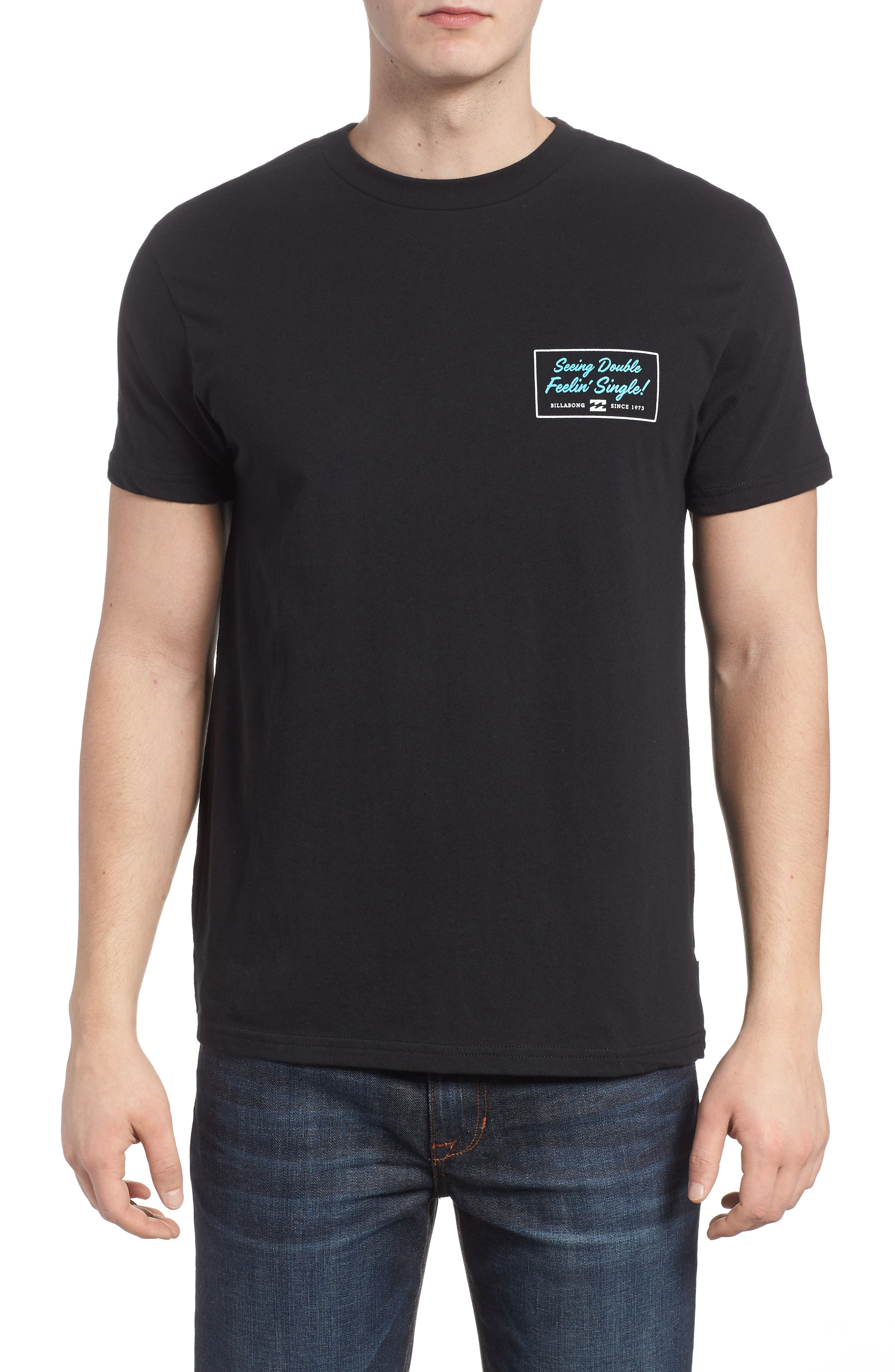 Feeling Single Graphic T-Shirt,                             Main thumbnail 1, color,                             001