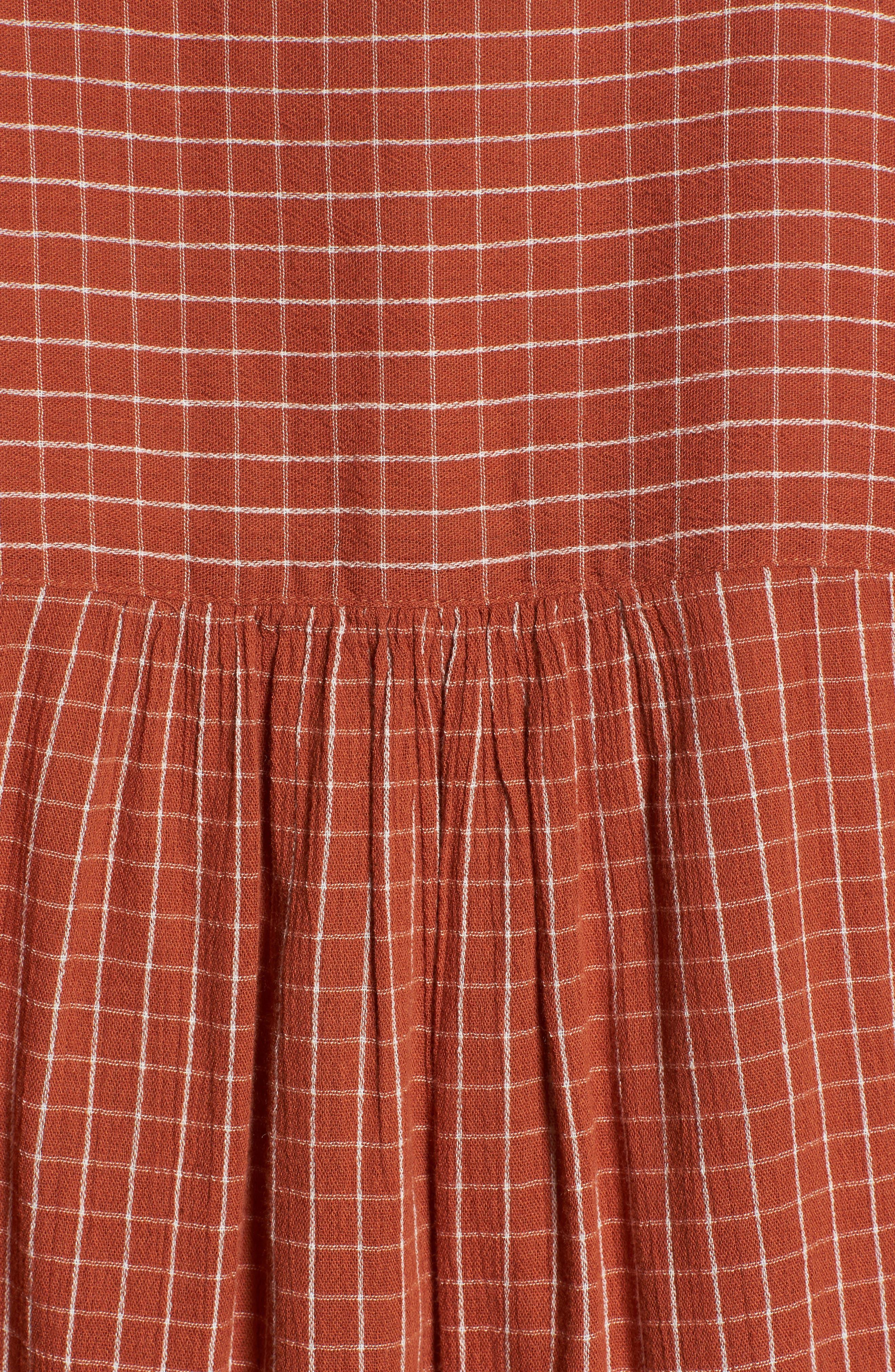 Veranda Bell Sleeve Shirt,                             Alternate thumbnail 5, color,