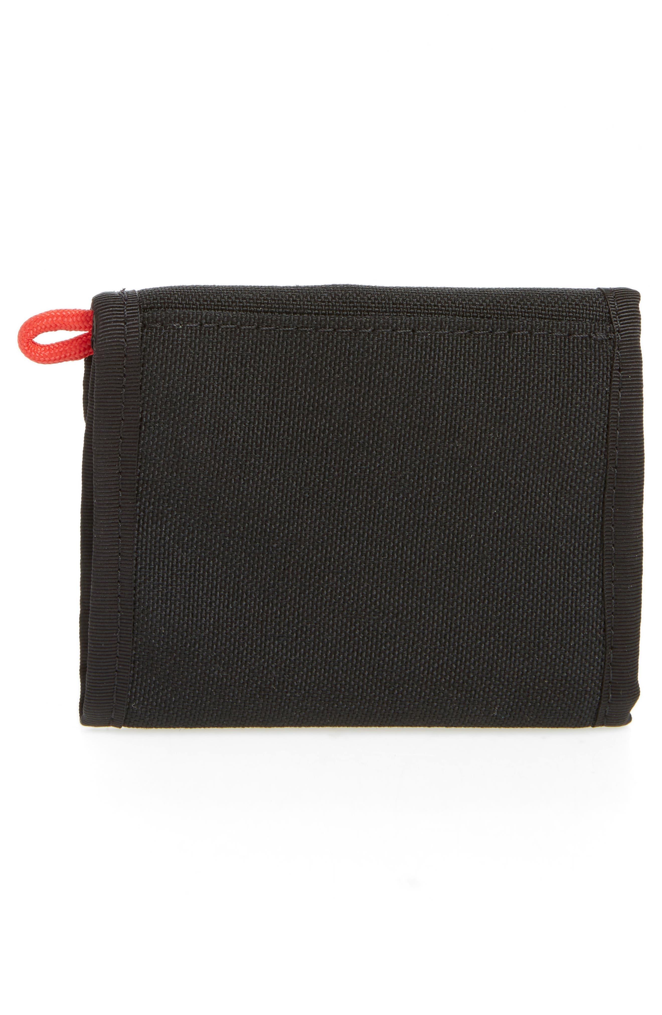 Snap Wallet,                             Alternate thumbnail 3, color,                             BLACK