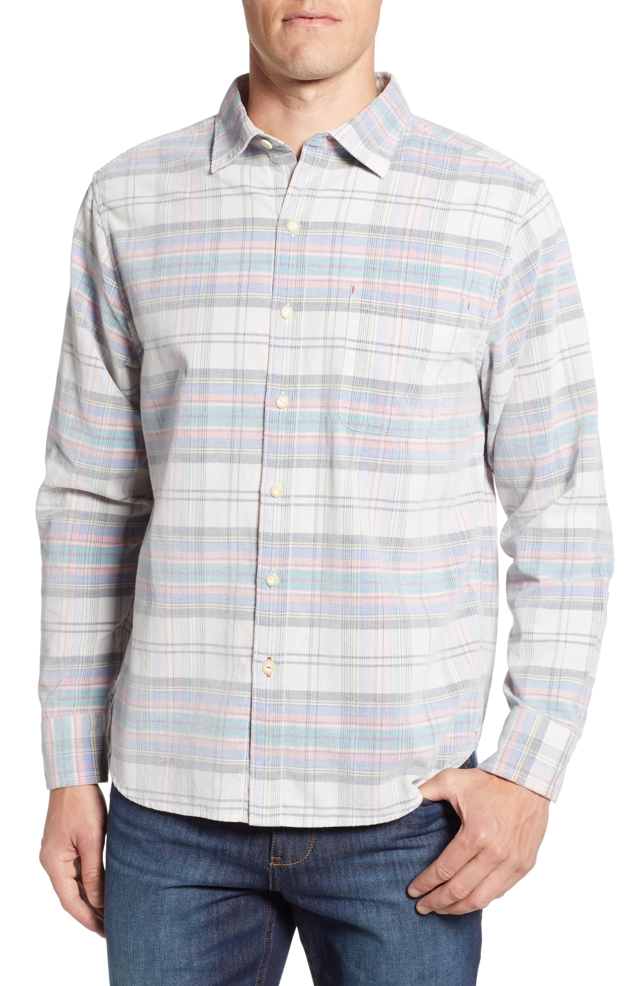 Men's Tommy Bahama Becket Bay Corduroy Sport Shirt