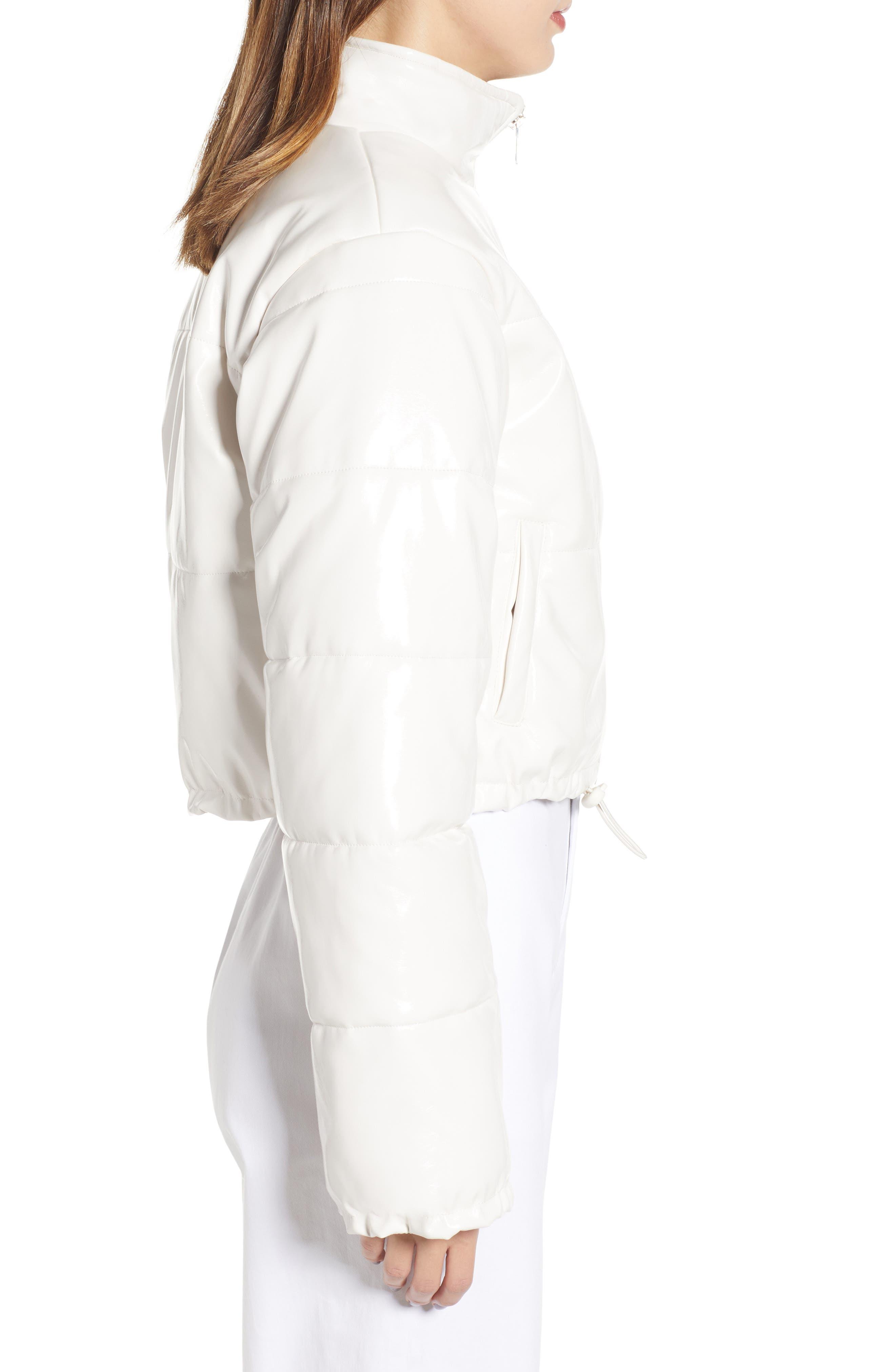 I.AM.GIA Road Warrior Jacket,                             Alternate thumbnail 3, color,                             WHITE