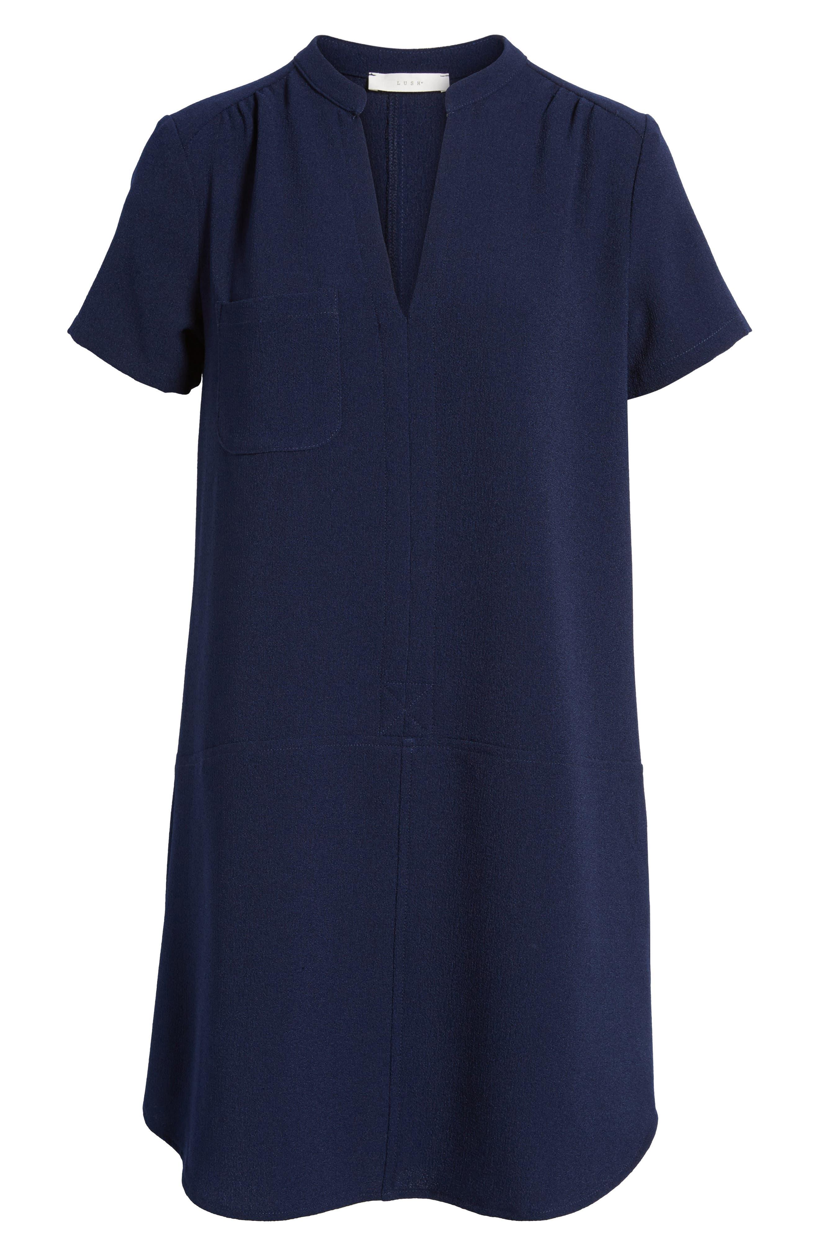 Hailey Crepe Dress,                             Alternate thumbnail 154, color,