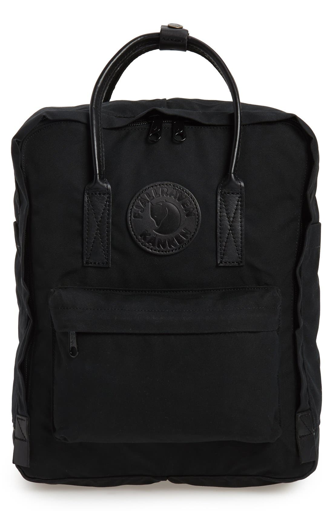 'Kånken No. 2' Water Resistant Backpack,                         Main,                         color, BLACK