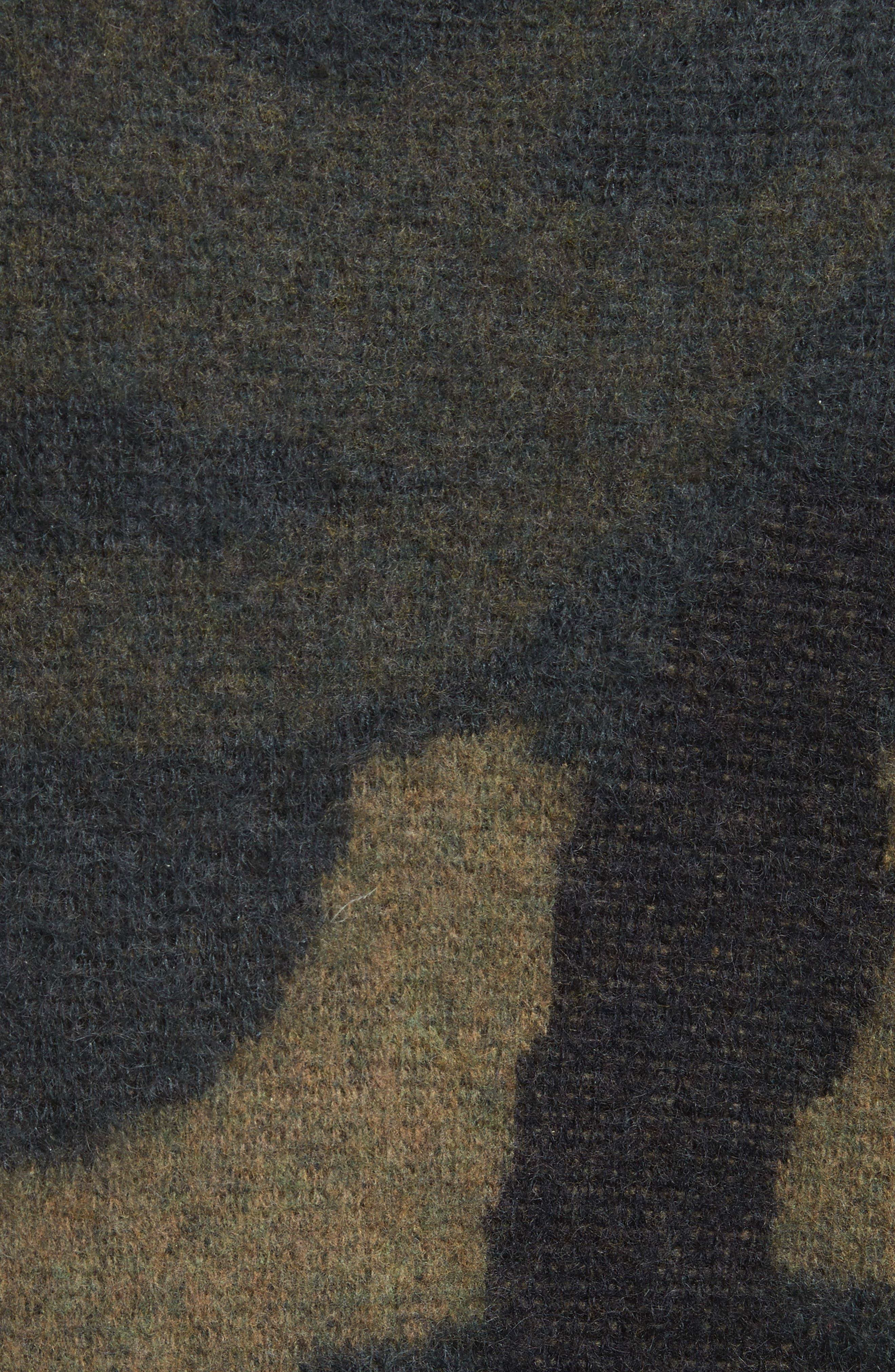 Sinclair Camouflage Jacquard Sweater,                             Alternate thumbnail 5, color,                             319
