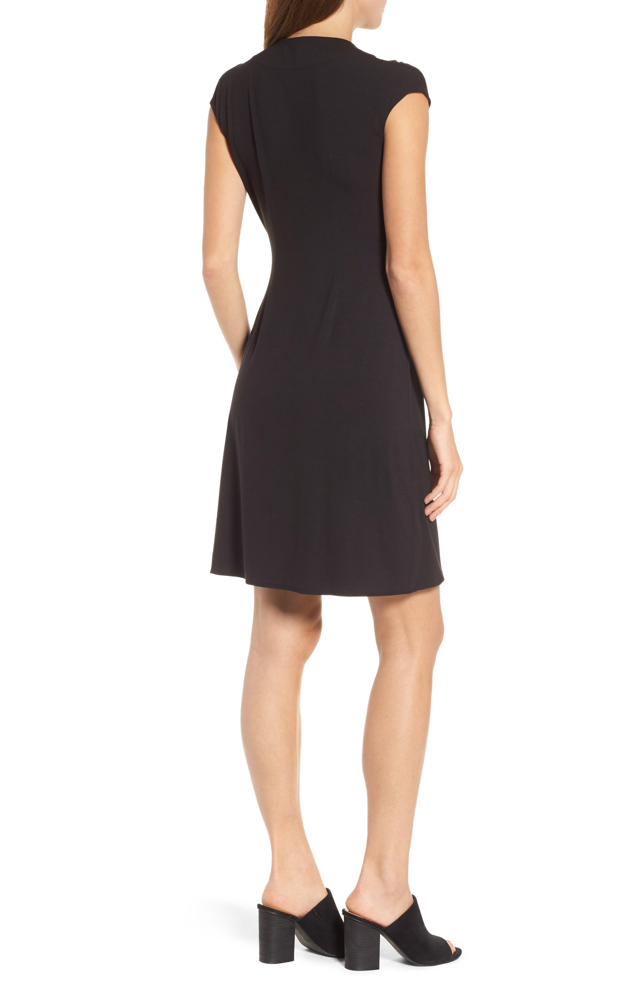 'Tambour' Side Gathered Dress,                             Alternate thumbnail 17, color,