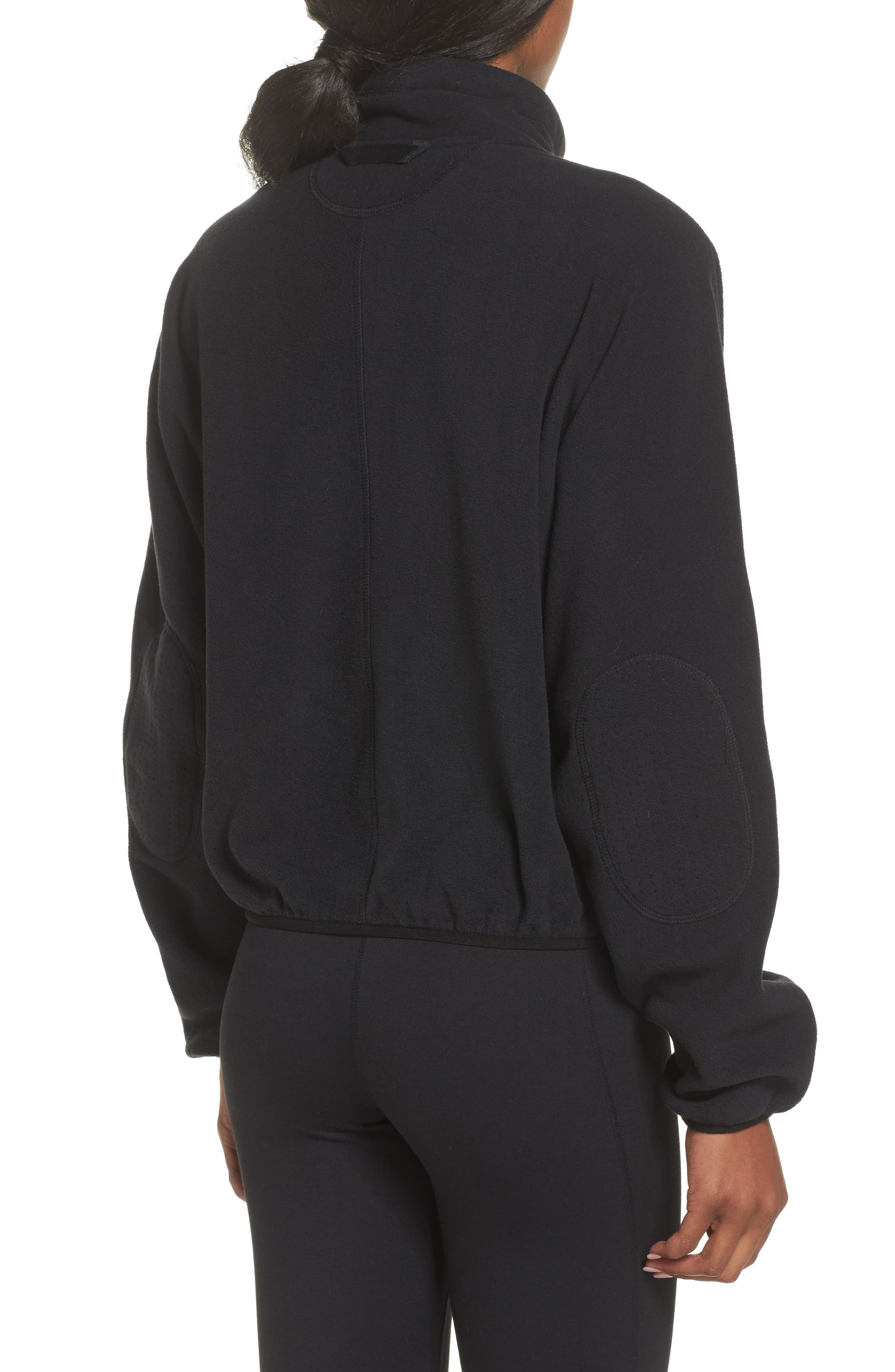 FP Movement Higher Ground Fleece Jacket,                             Alternate thumbnail 3, color,