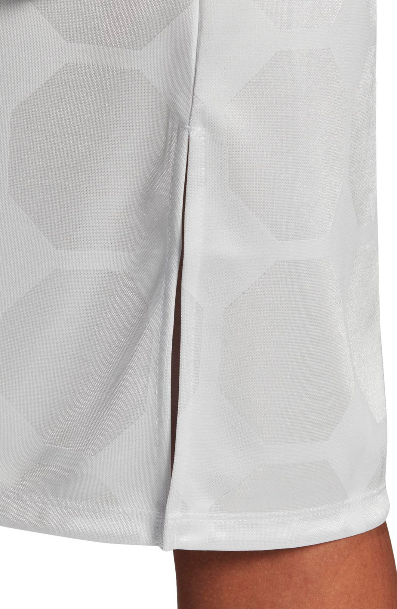 Fashion League Trefoil Jacquard Tank Dress,                             Alternate thumbnail 9, color,                             100