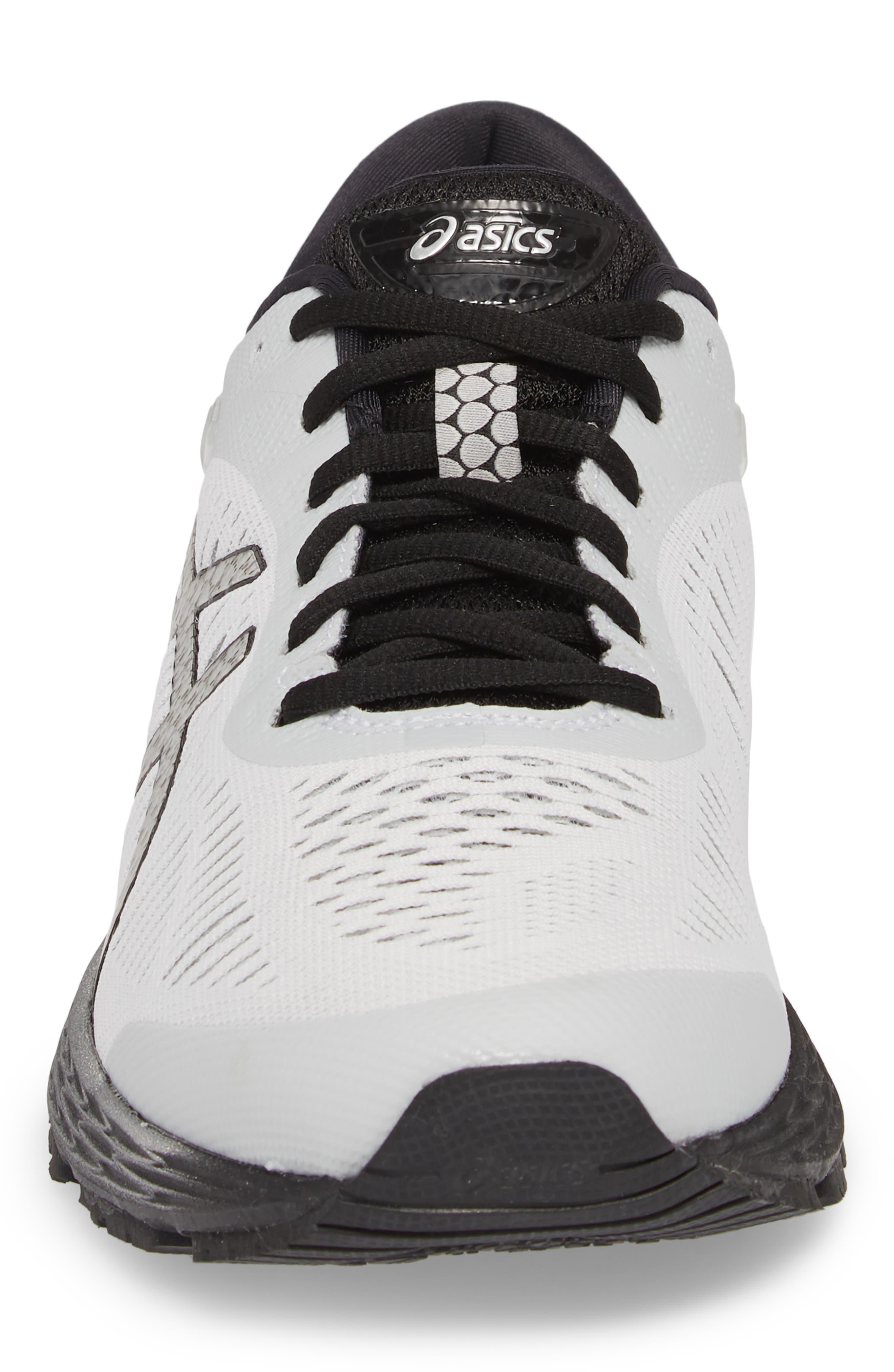 GEL-Kayano<sup>®</sup> 25 Running Shoe,                             Alternate thumbnail 4, color,                             GLACIER GREY/ BLACK