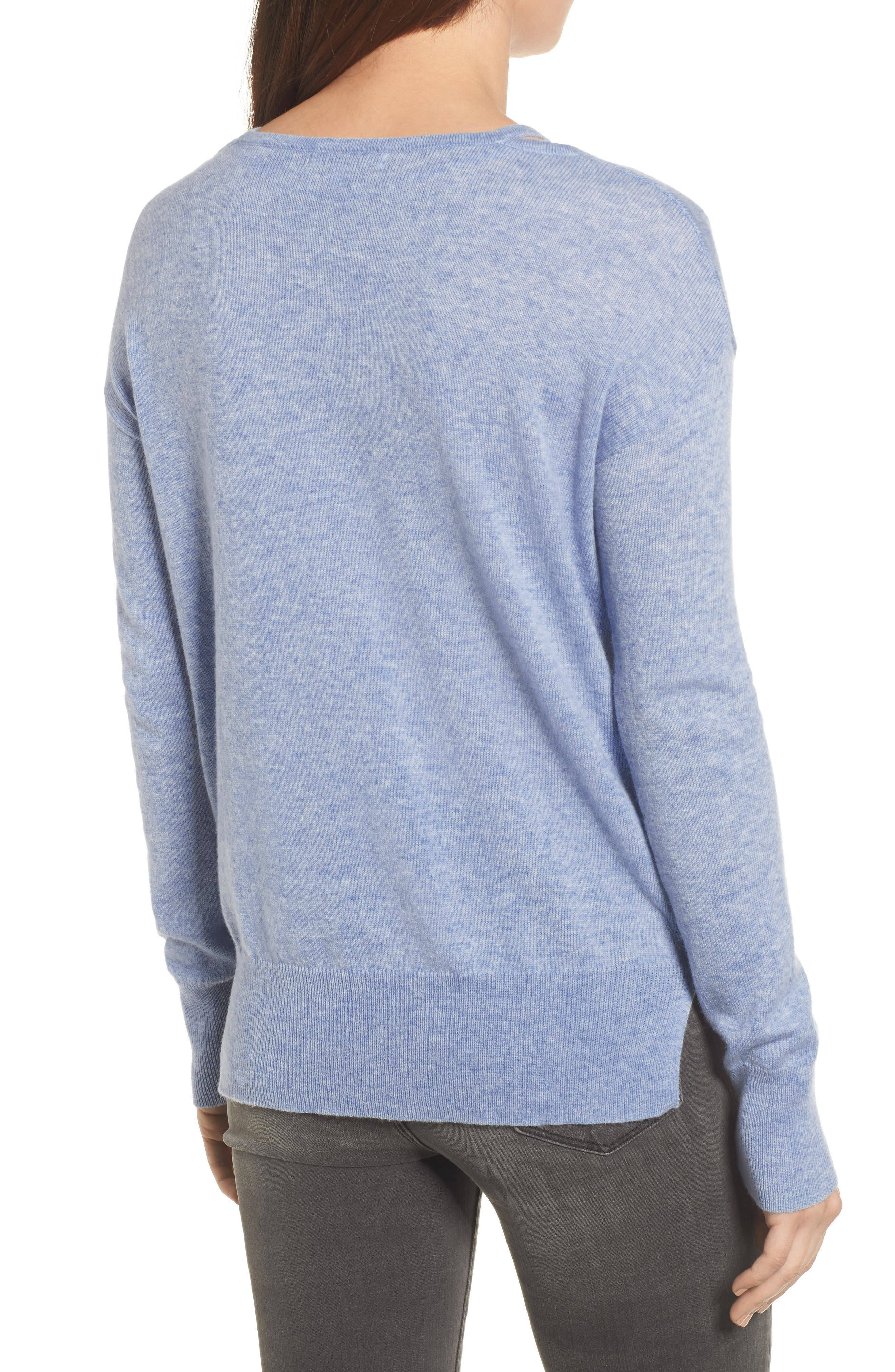 Kenley Wool & Cashmere Sweater,                             Alternate thumbnail 2, color,                             400