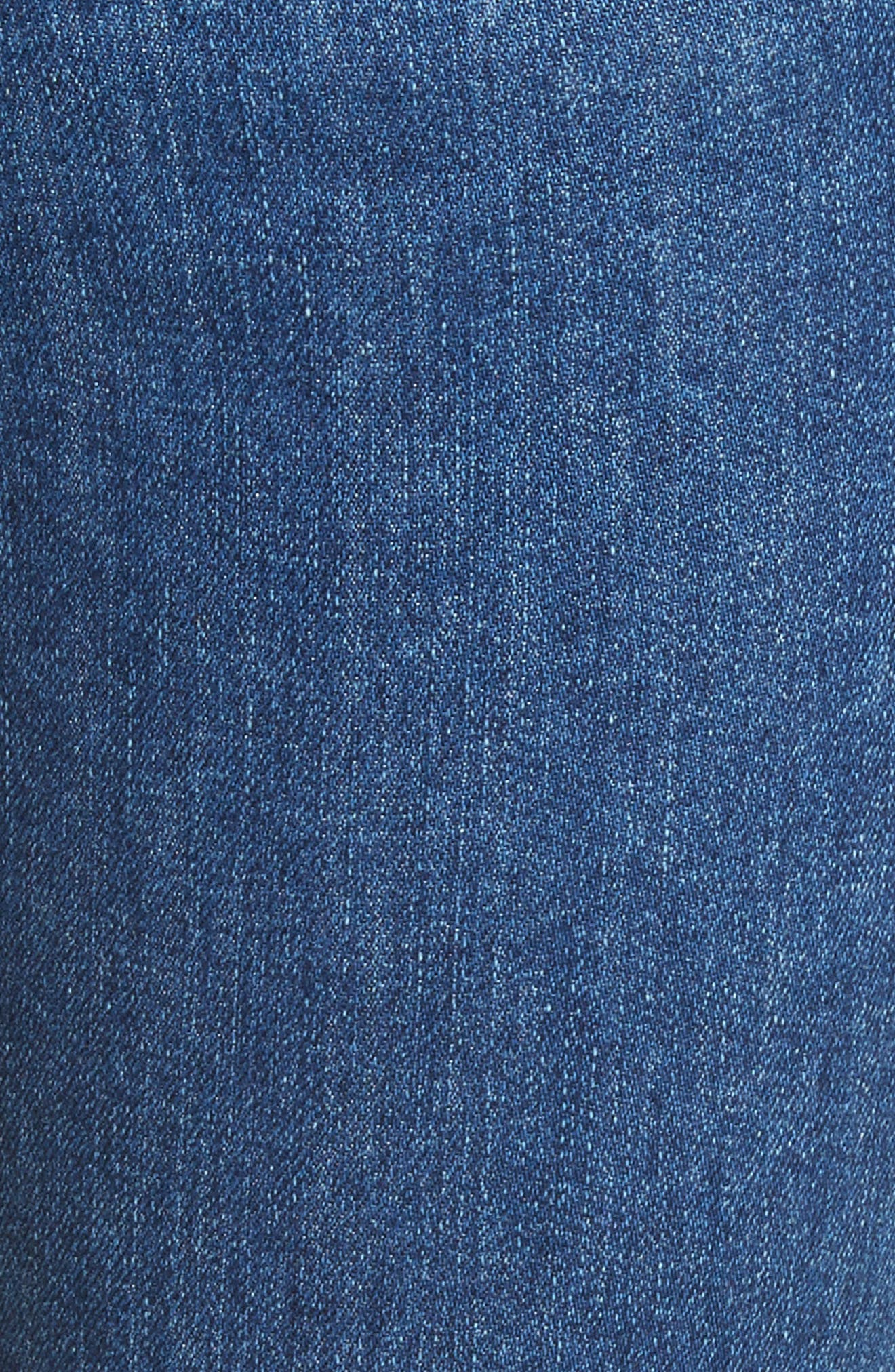 Hana High Waist Crop Bootcut Jeans,                             Alternate thumbnail 5, color,                             420