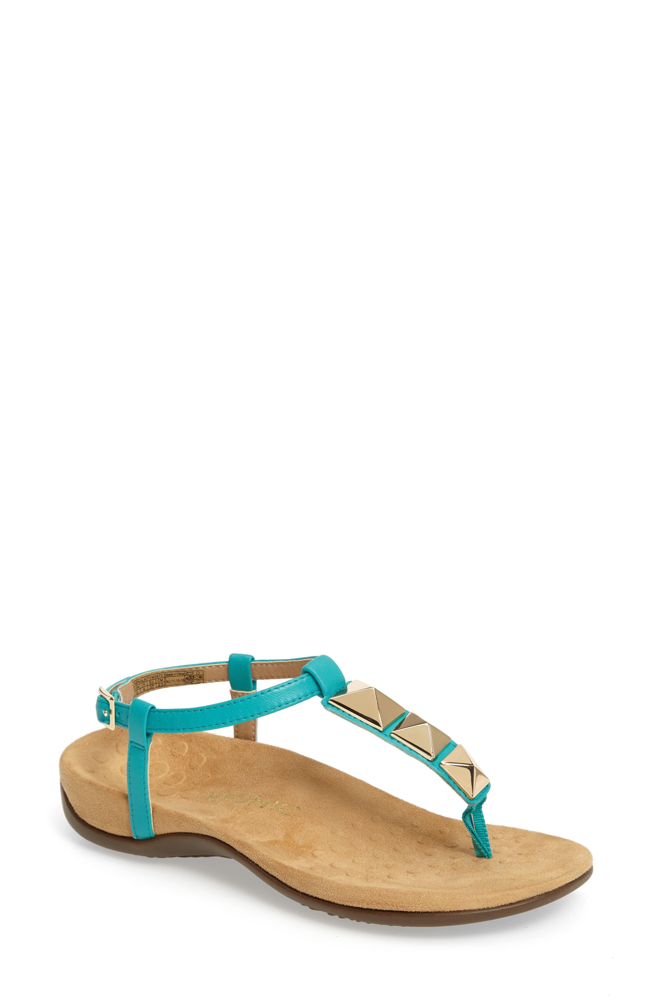 Nala T-Strap Sandal,                             Main thumbnail 4, color,