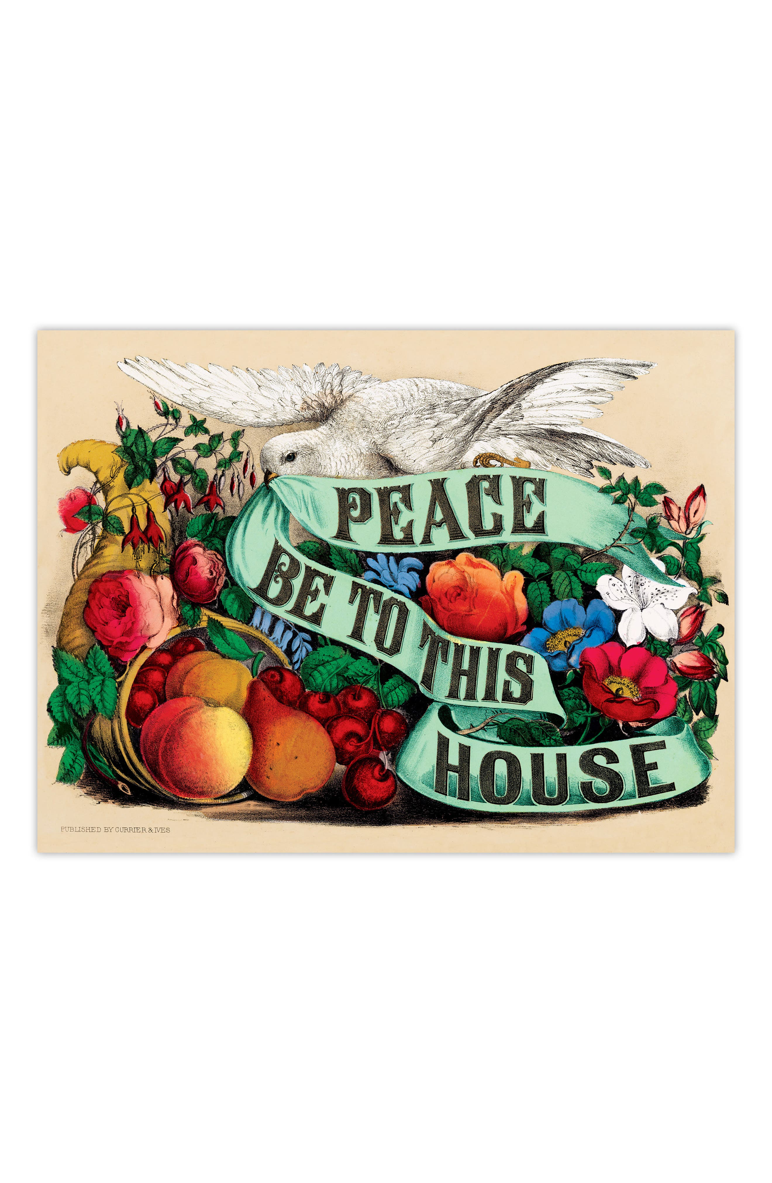 Peace Be to This House 500-Piece Puzzle,                             Alternate thumbnail 2, color,                             300