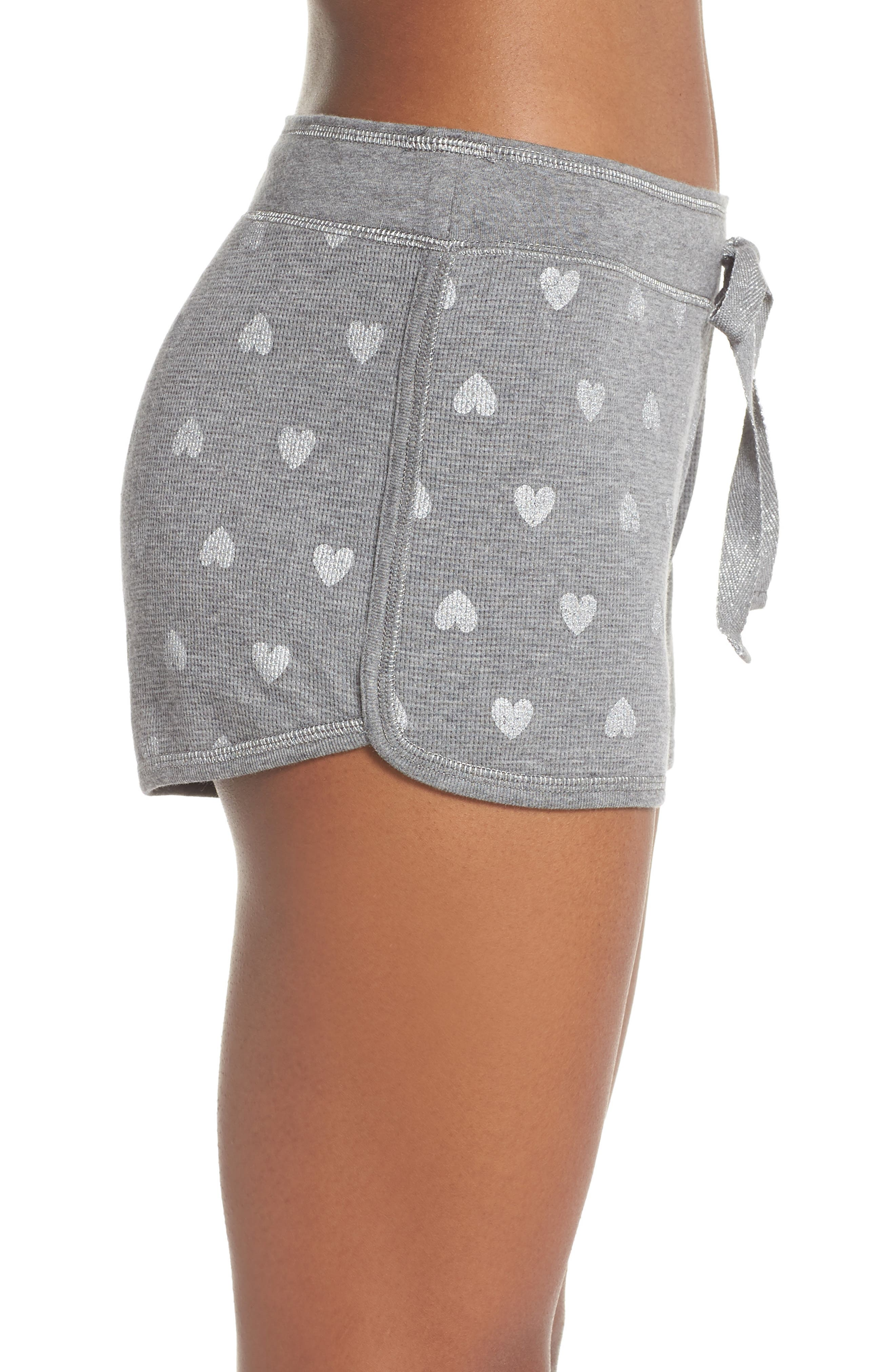 Wild Heart Thermal Shorts,                             Alternate thumbnail 3, color,                             020