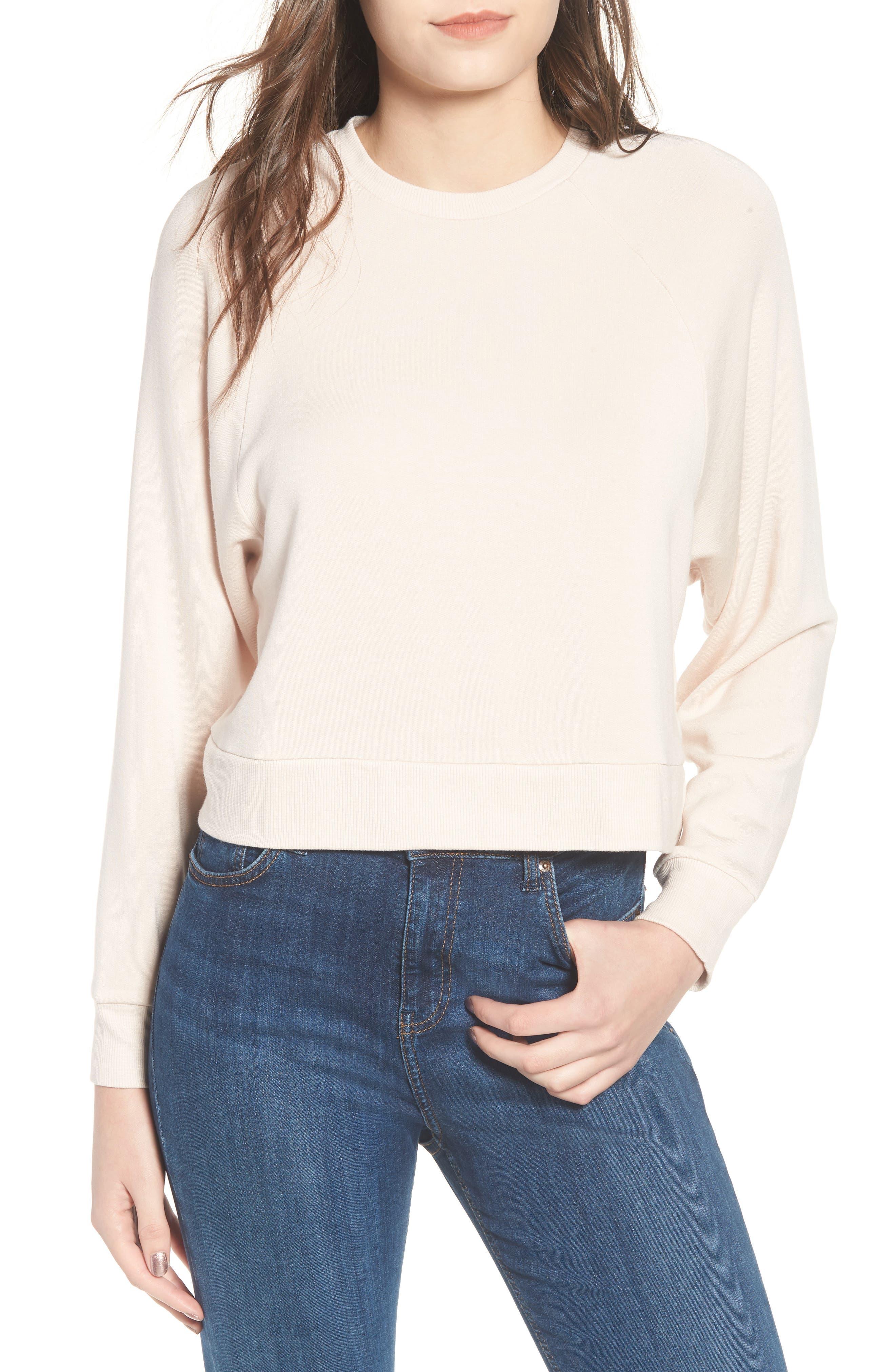 Raglan Sweatshirt,                         Main,                         color, 250