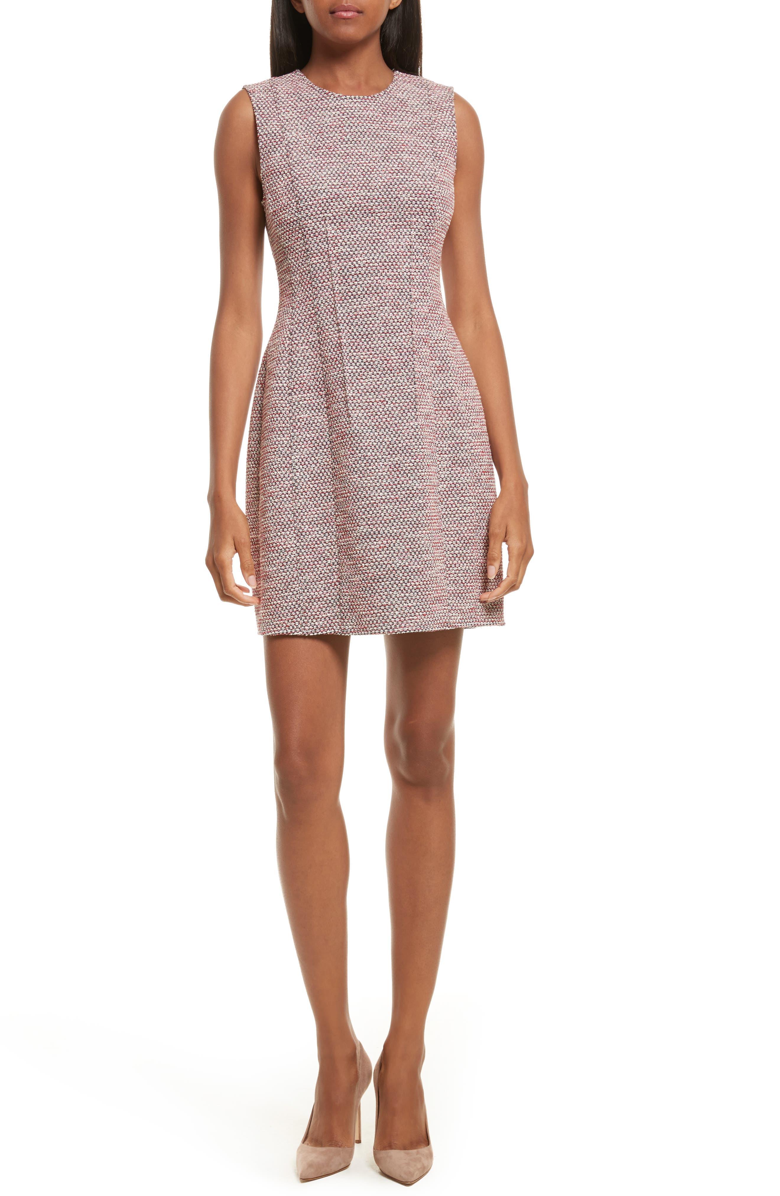 Beacon Tweed Hourglass Dress,                         Main,                         color, 496