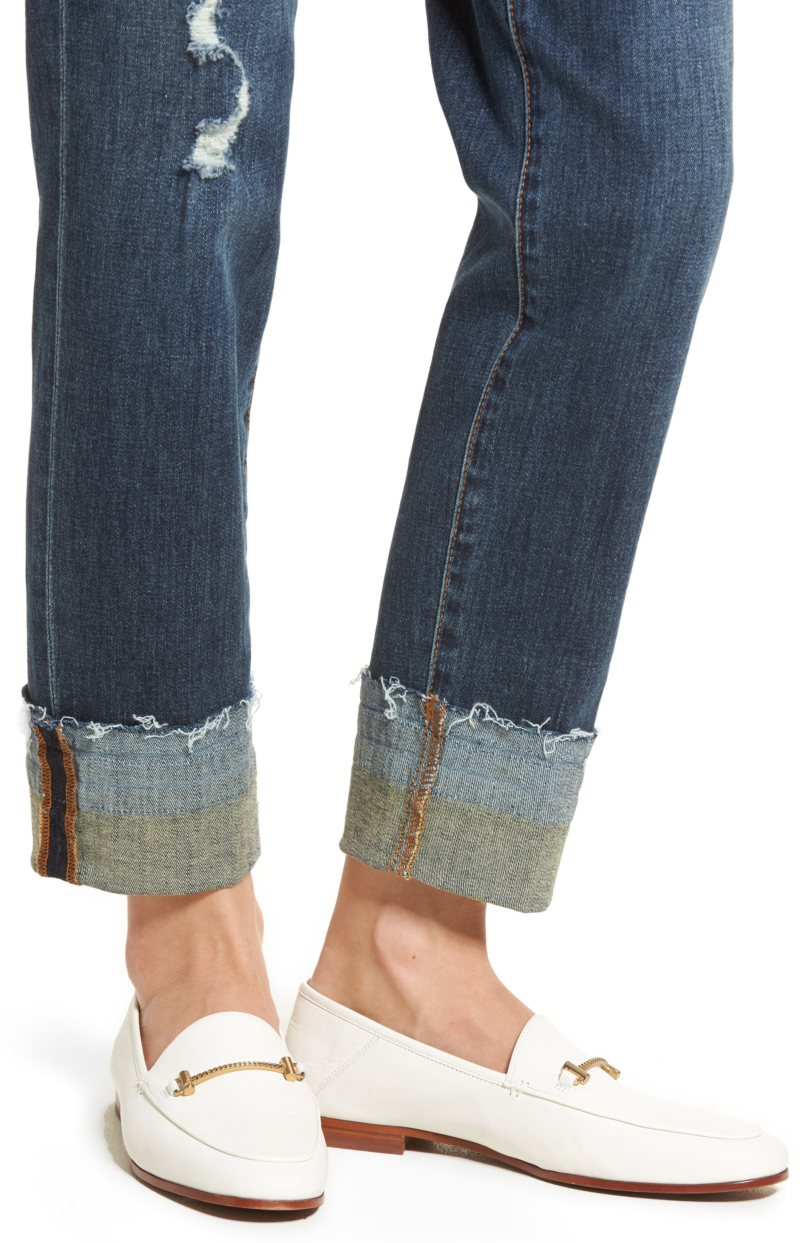 The Mary Jane High Rise Jeans,                             Alternate thumbnail 4, color,                             420