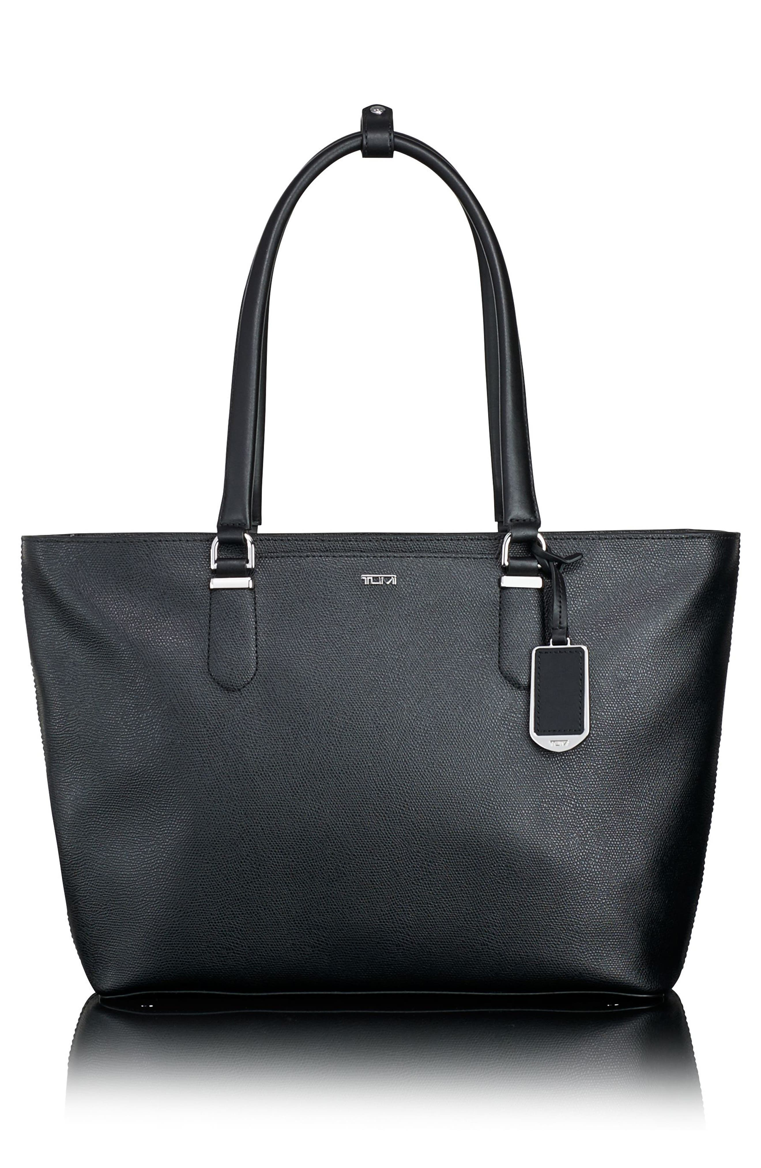 Sinclair - Nell Coated Canvas Tote,                         Main,                         color, 001