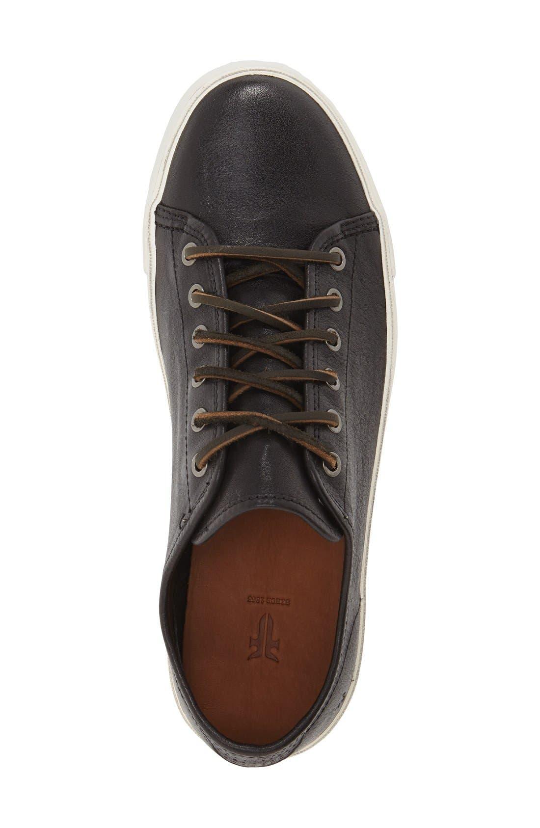 FRYE,                             'Brett' Sneaker,                             Alternate thumbnail 3, color,                             001