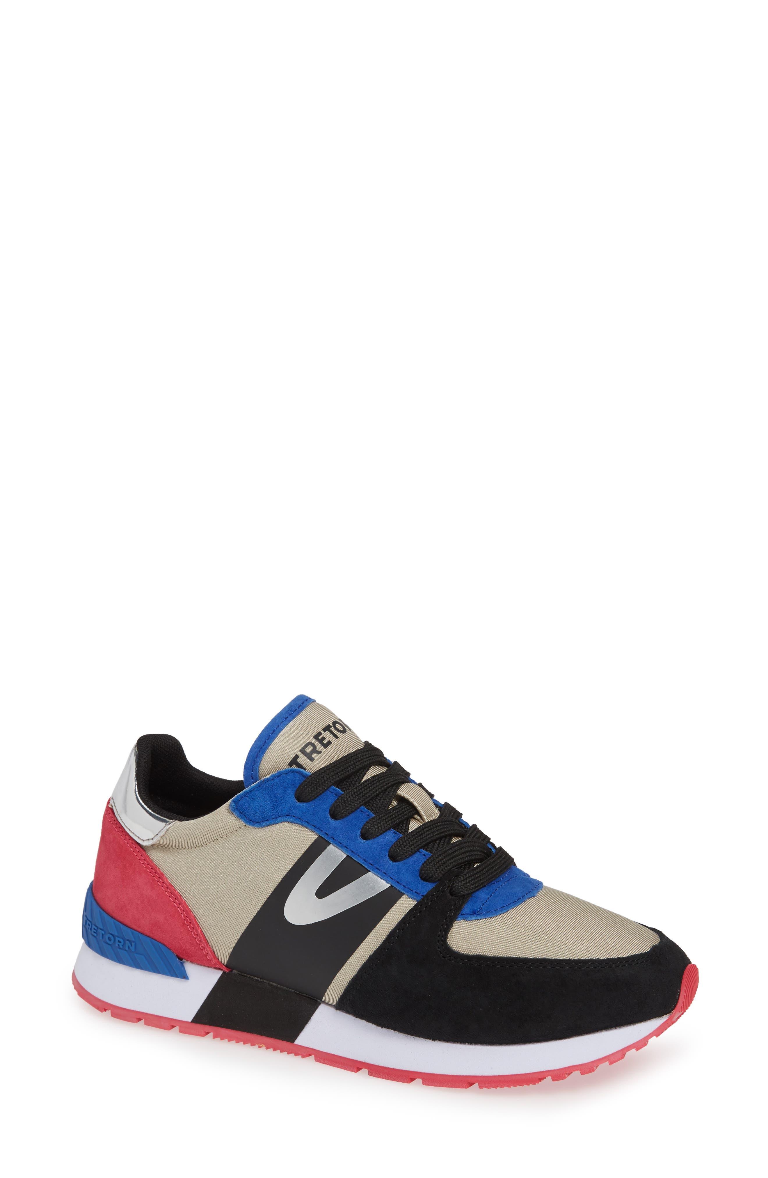 TRETORN,                             Loyola3 Sneaker,                             Main thumbnail 1, color,                             GLACIER GREY/ MARSHMALLOW