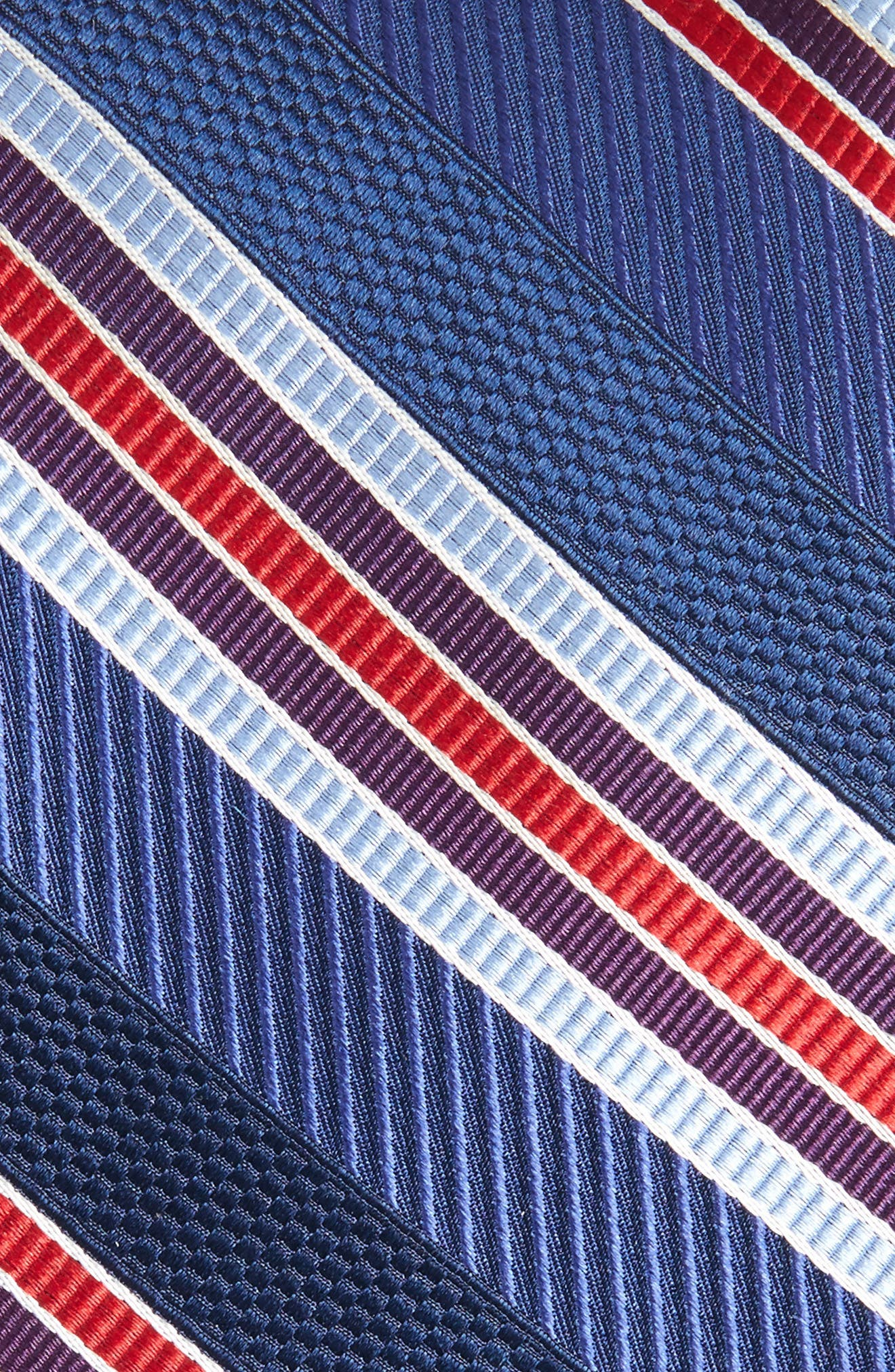 Northwest Stripe Silk Tie,                             Alternate thumbnail 8, color,