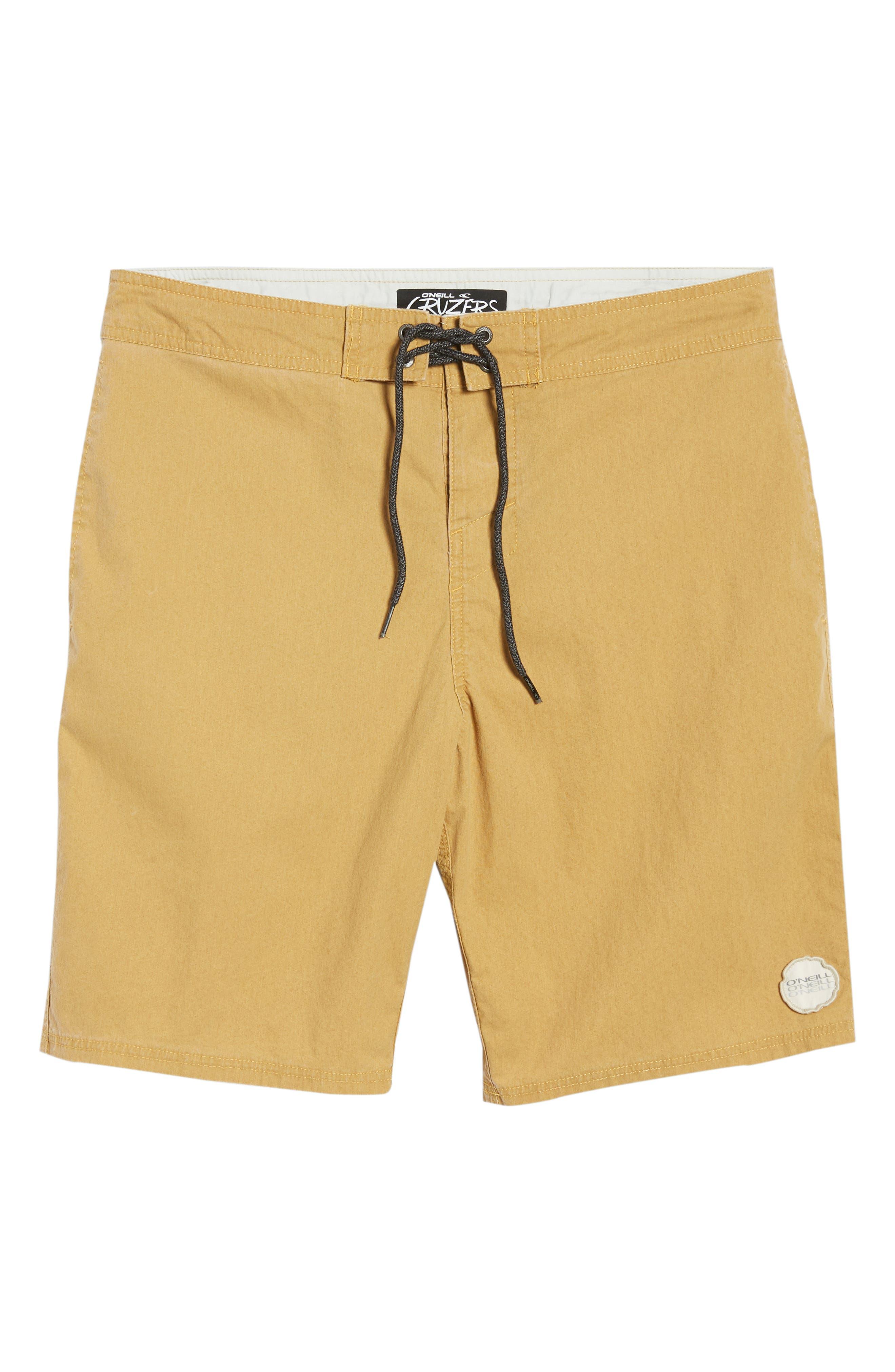 Faded Cruzer Board Shorts,                             Alternate thumbnail 6, color,                             206