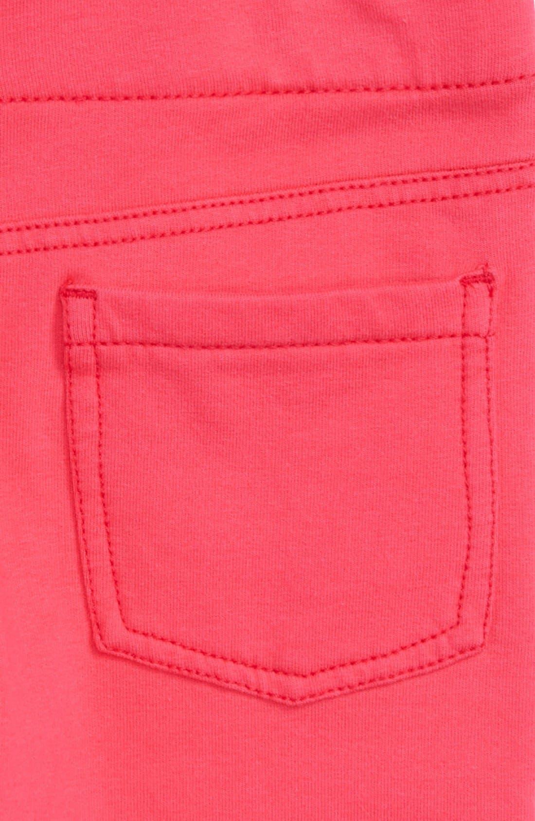 'Jenna' Jegging Shorts,                             Alternate thumbnail 18, color,