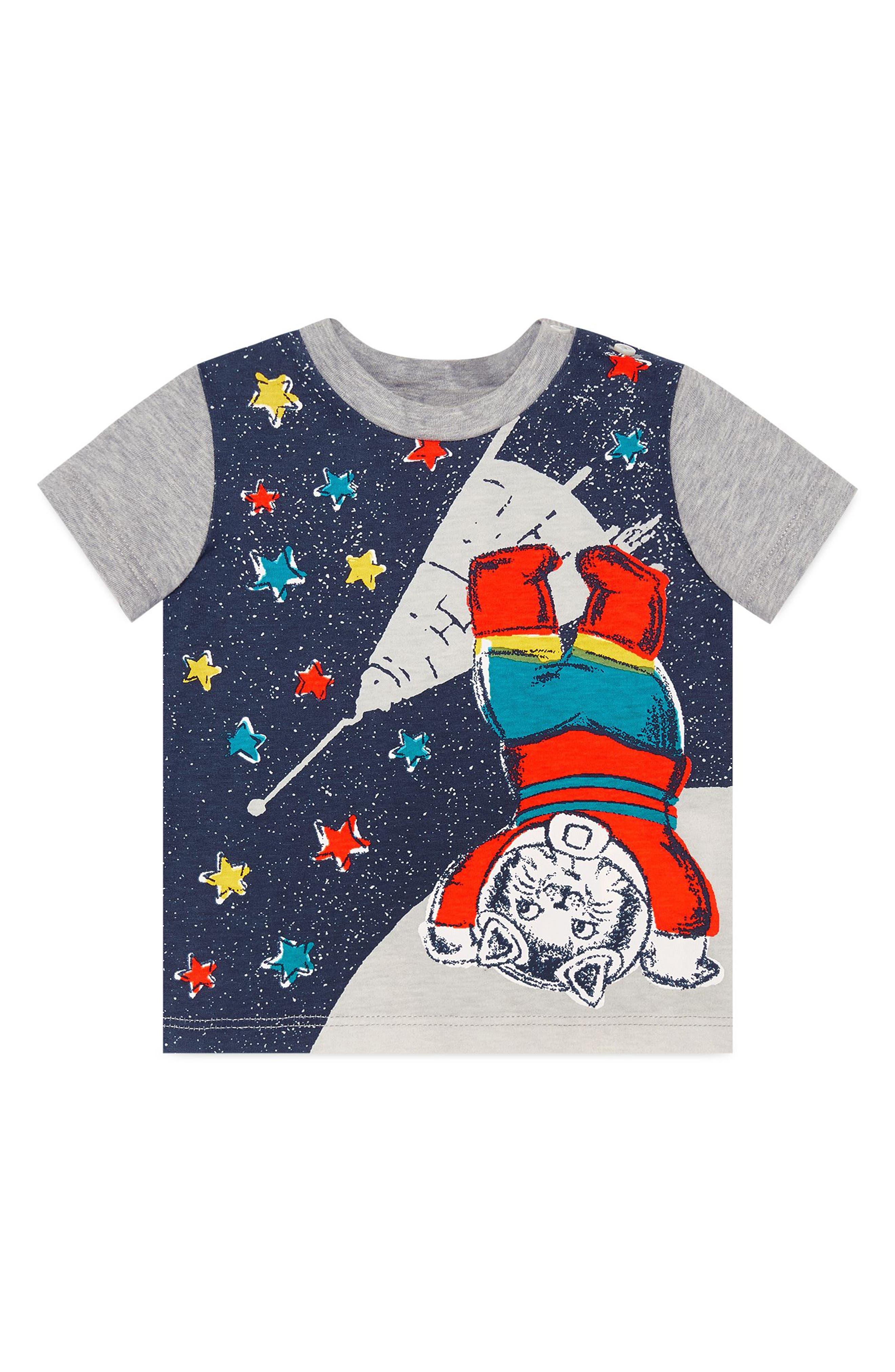Cat Graphic T-Shirt,                             Alternate thumbnail 3, color,                             452