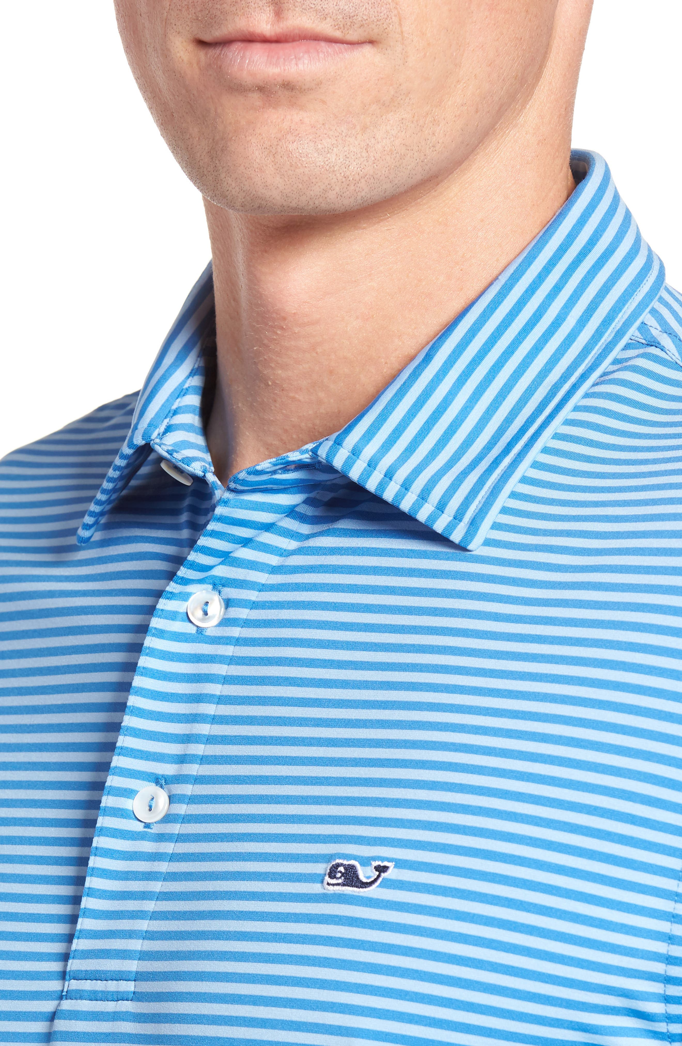 Kennedy Stripe Golf Polo,                             Alternate thumbnail 66, color,