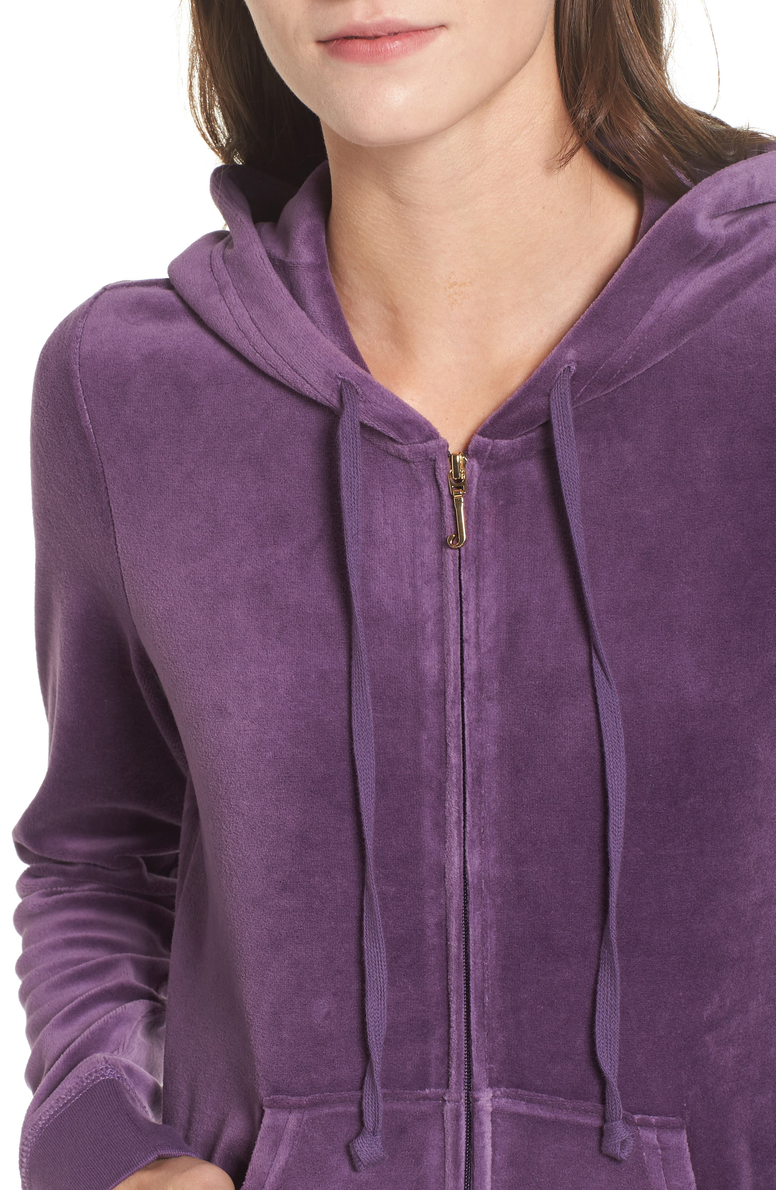 Robertson Velour Hoodie,                             Alternate thumbnail 4, color,                             511