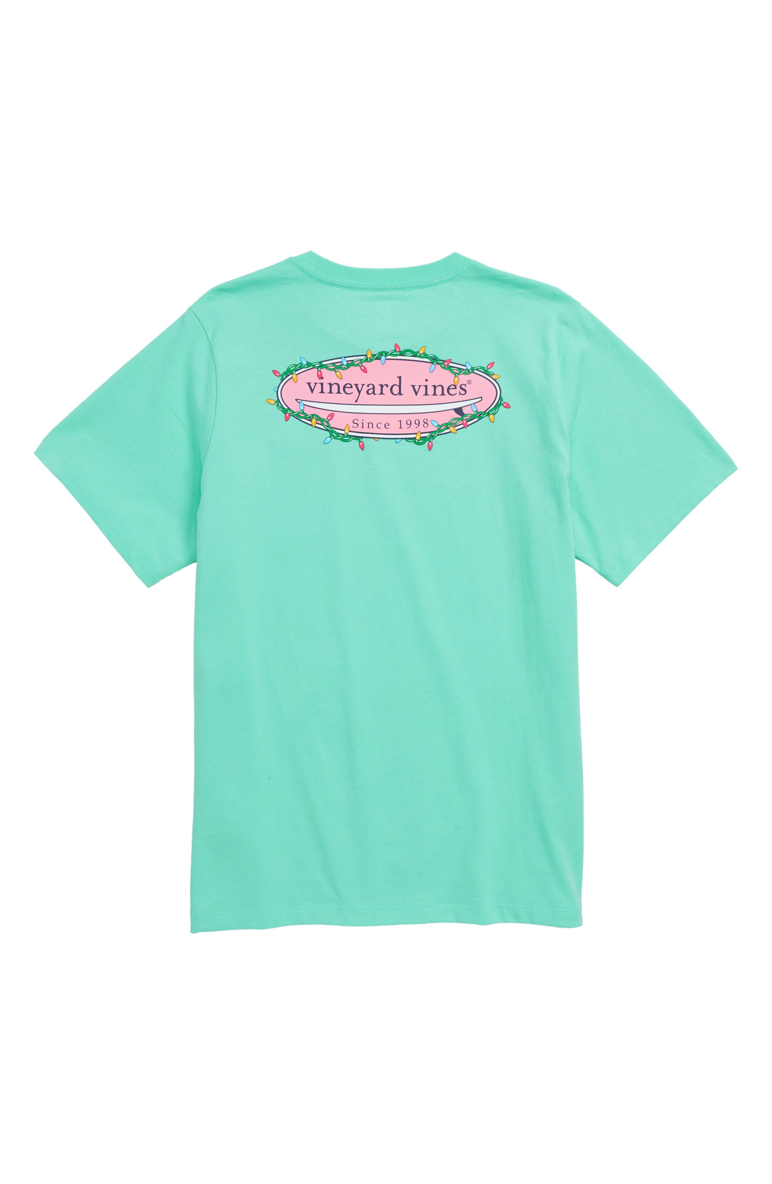 Surf Lights T-Shirt,                             Alternate thumbnail 2, color,                             CAPRI BLUE