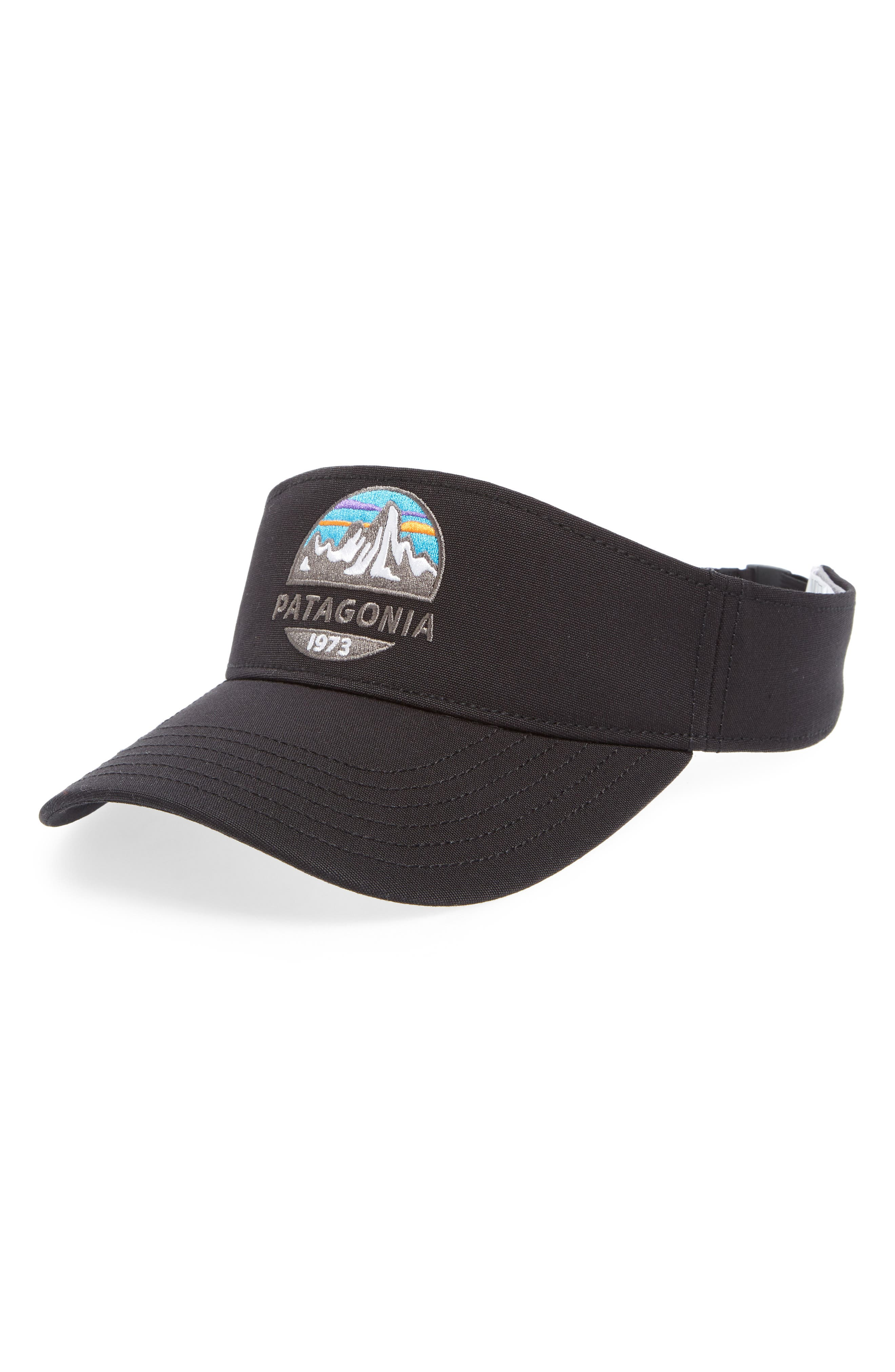 Fitz Roy Scope Visor,                             Main thumbnail 1, color,                             BLACK