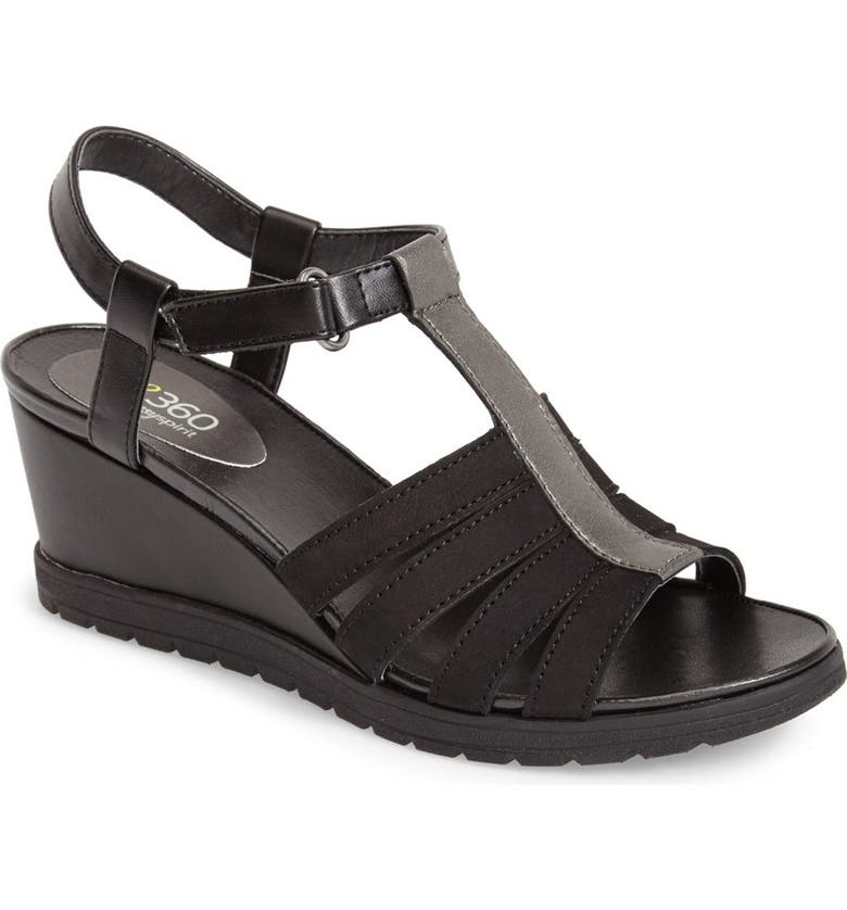 fb6d40ca23f1 Easy Spirit  e360 - Haven  Wedge Sandal (Women)