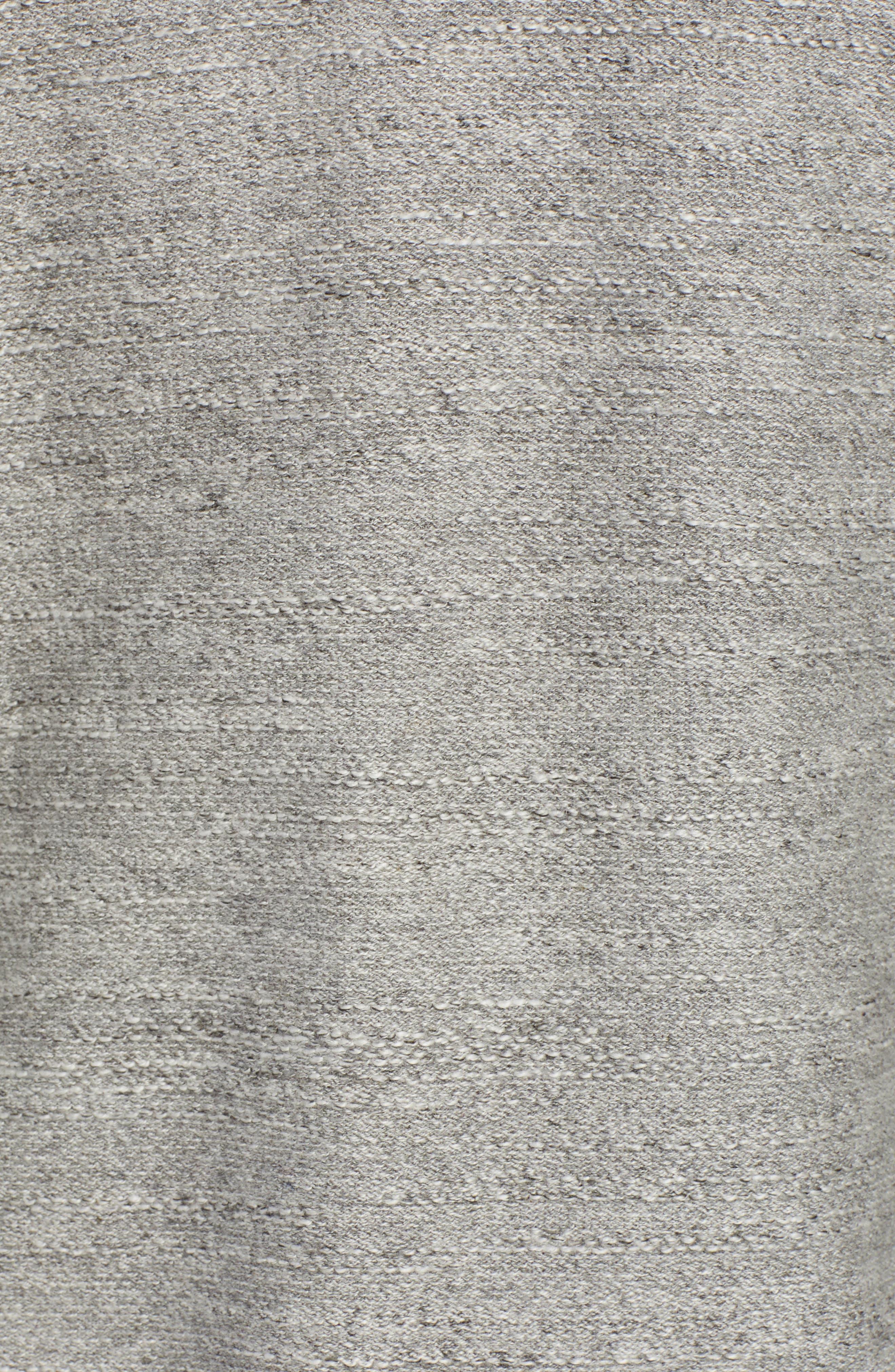 Rugged Raglan Sleeve Cotton Hoodie,                             Alternate thumbnail 5, color,                             020