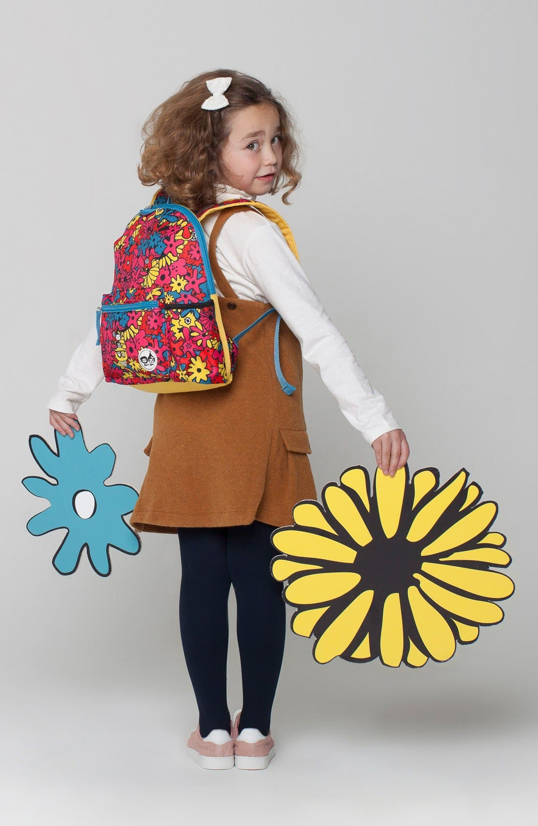 Print Backpack,                             Alternate thumbnail 10, color,                             FLORAL BRIGHTS