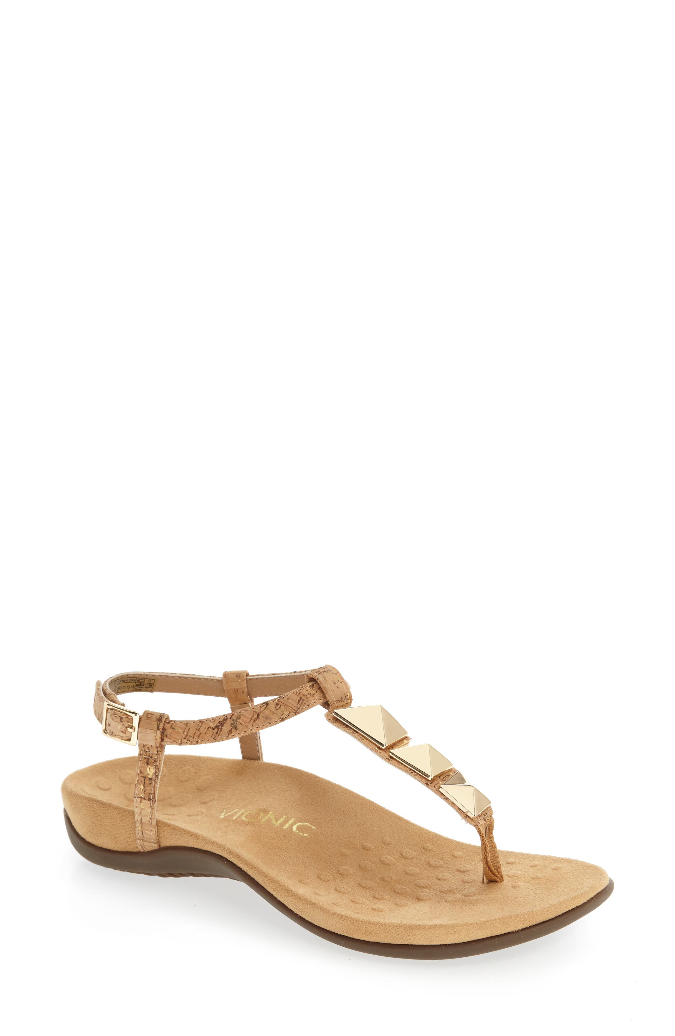 Nala T-Strap Sandal,                             Main thumbnail 3, color,