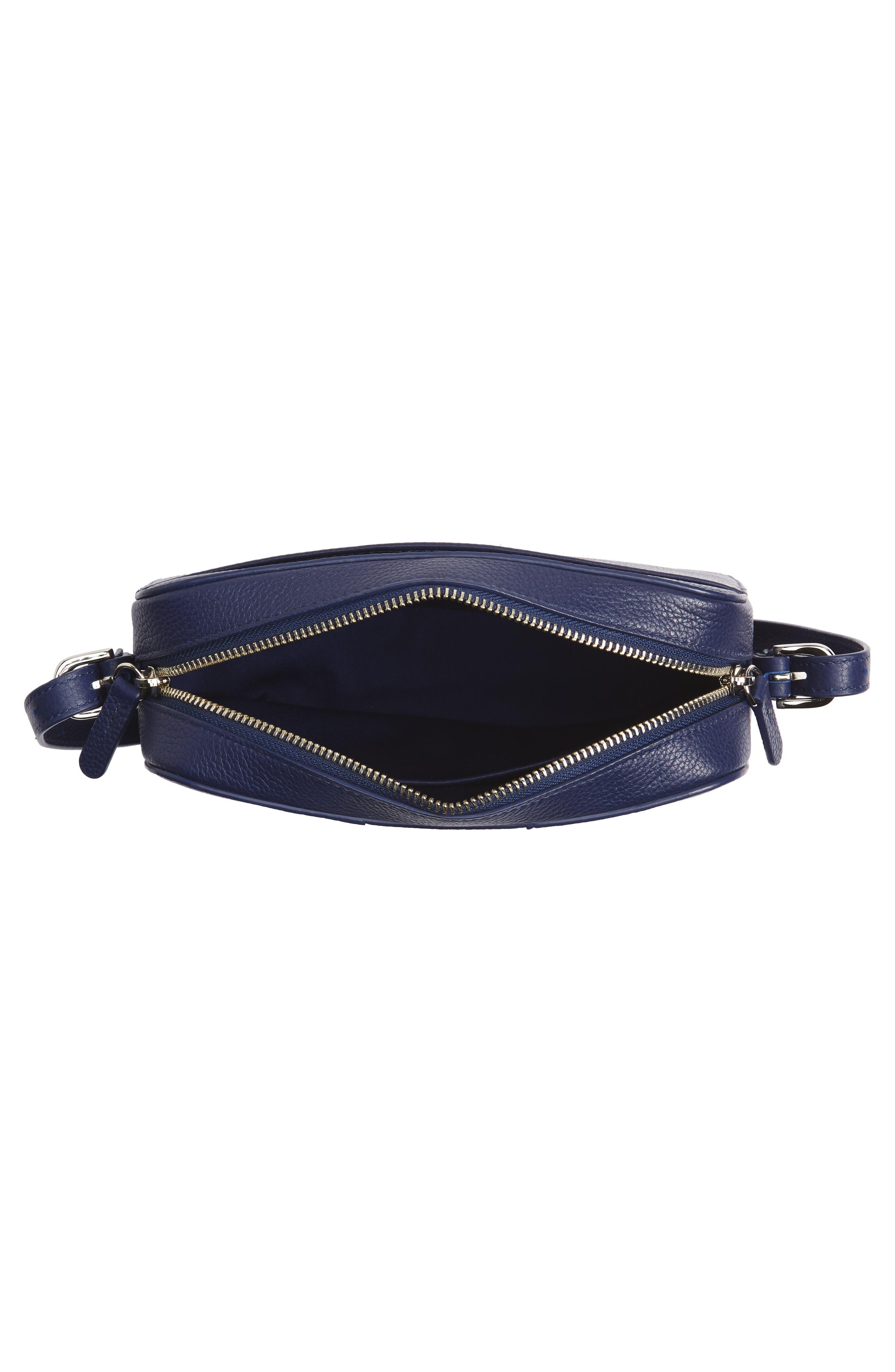 Brayden Leather Crossbody Camera Bag,                             Alternate thumbnail 19, color,