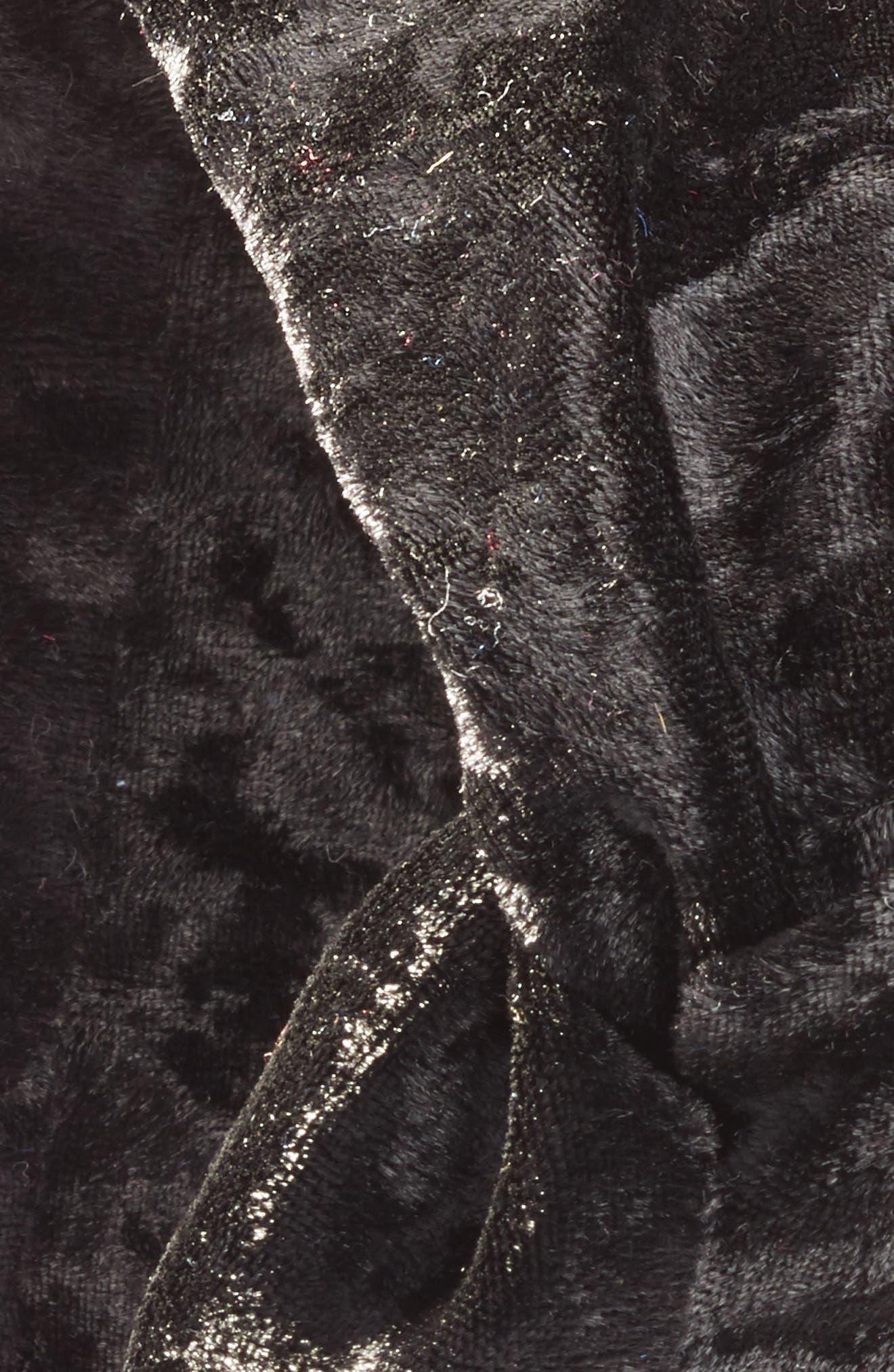 Velvet Turban Head Wrap,                             Alternate thumbnail 2, color,                             001