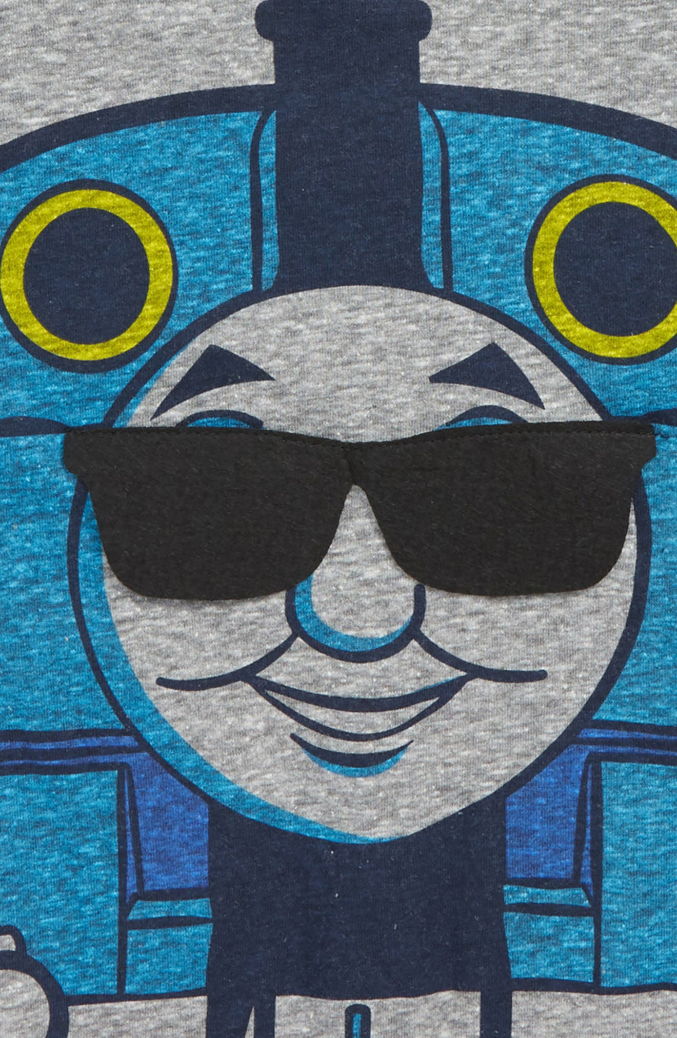 Thomas the Tank Engine T-Shirt,                             Alternate thumbnail 3, color,                             NAVY