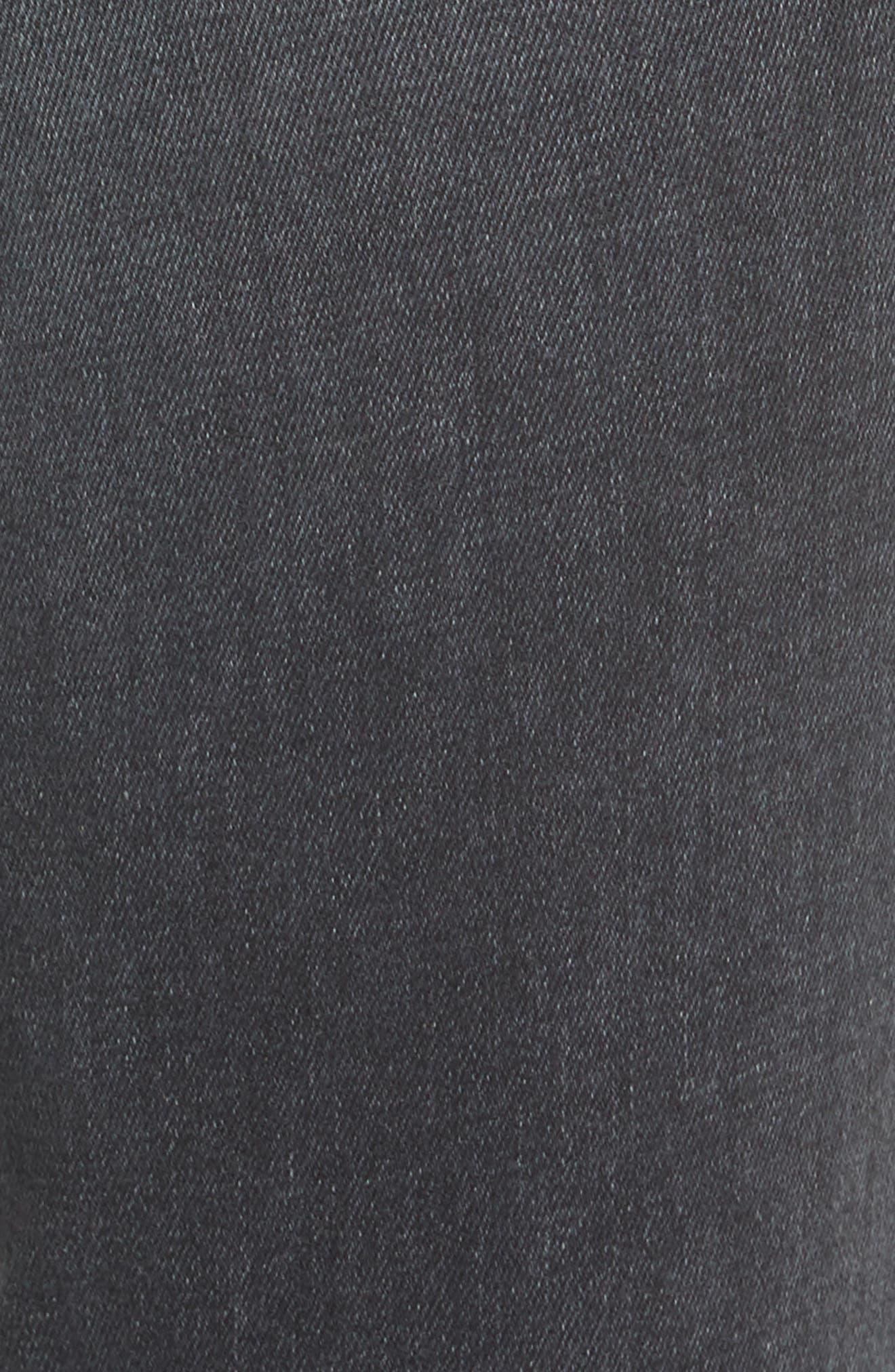 Corset Detail Ankle Skinny Jeans,                             Alternate thumbnail 5, color,                             EDDA