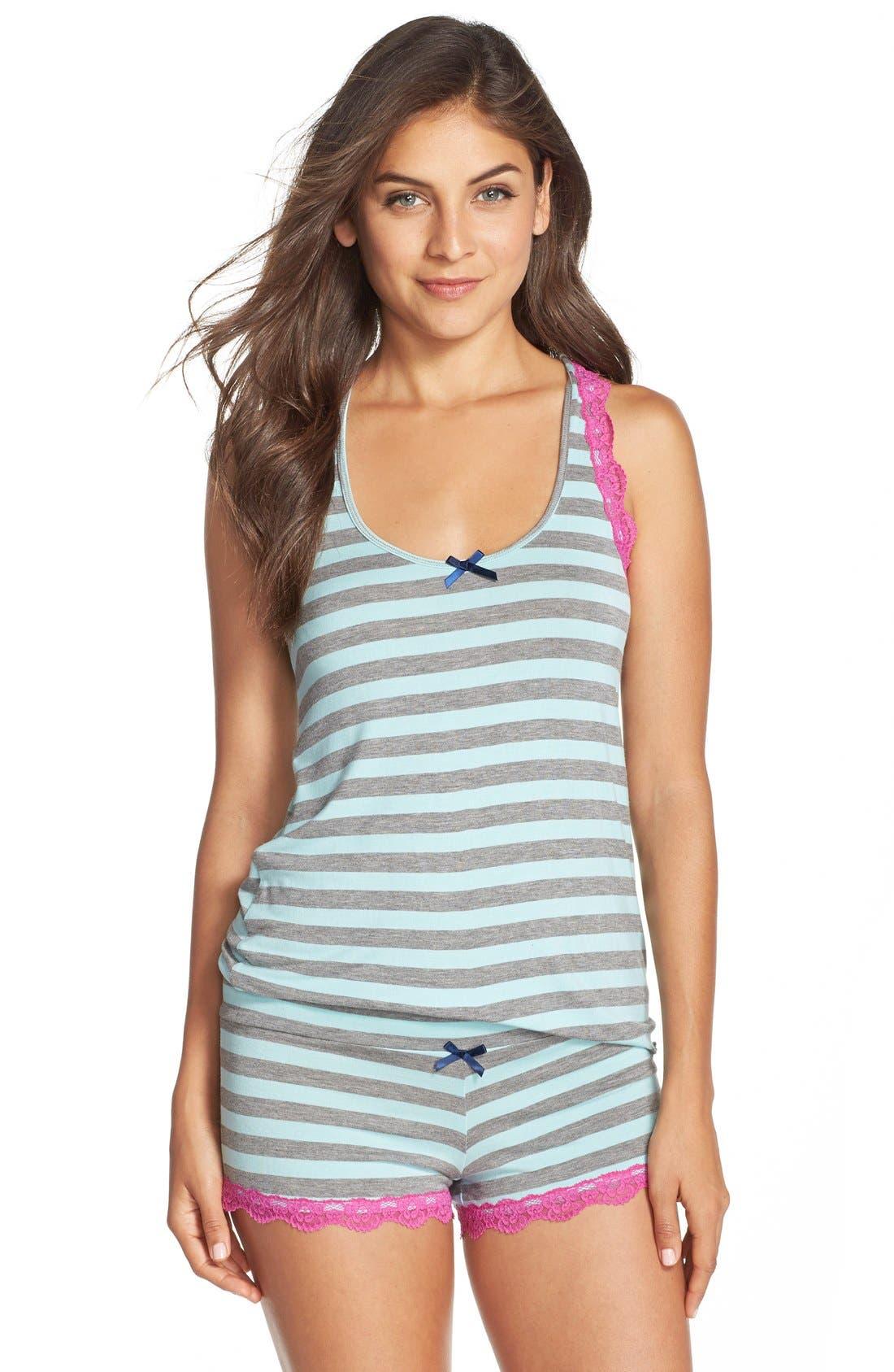 All Amercian Short Pajamas,                             Main thumbnail 13, color,