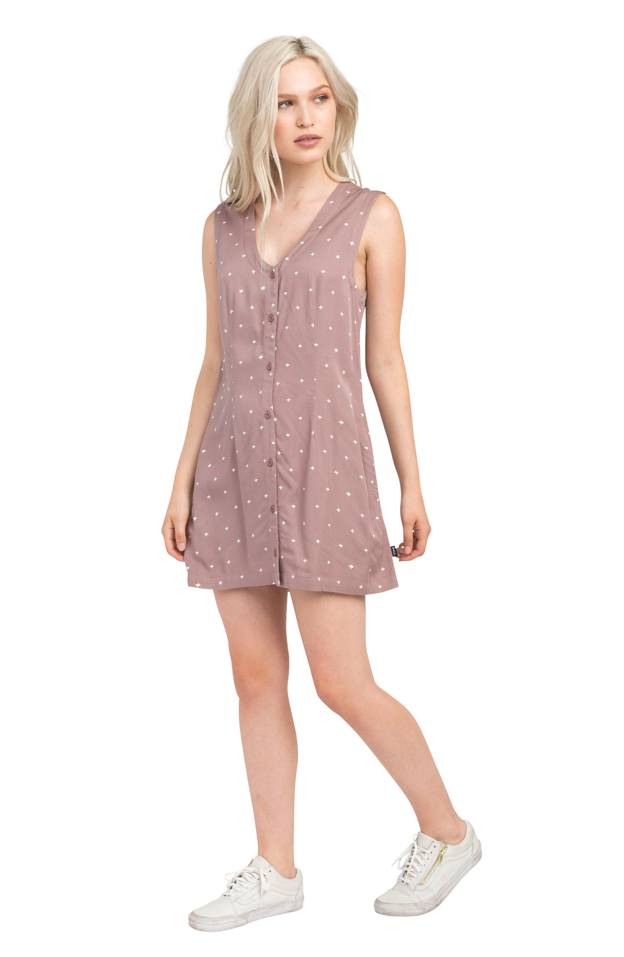 Fairness Print Dress,                             Alternate thumbnail 4, color,                             652