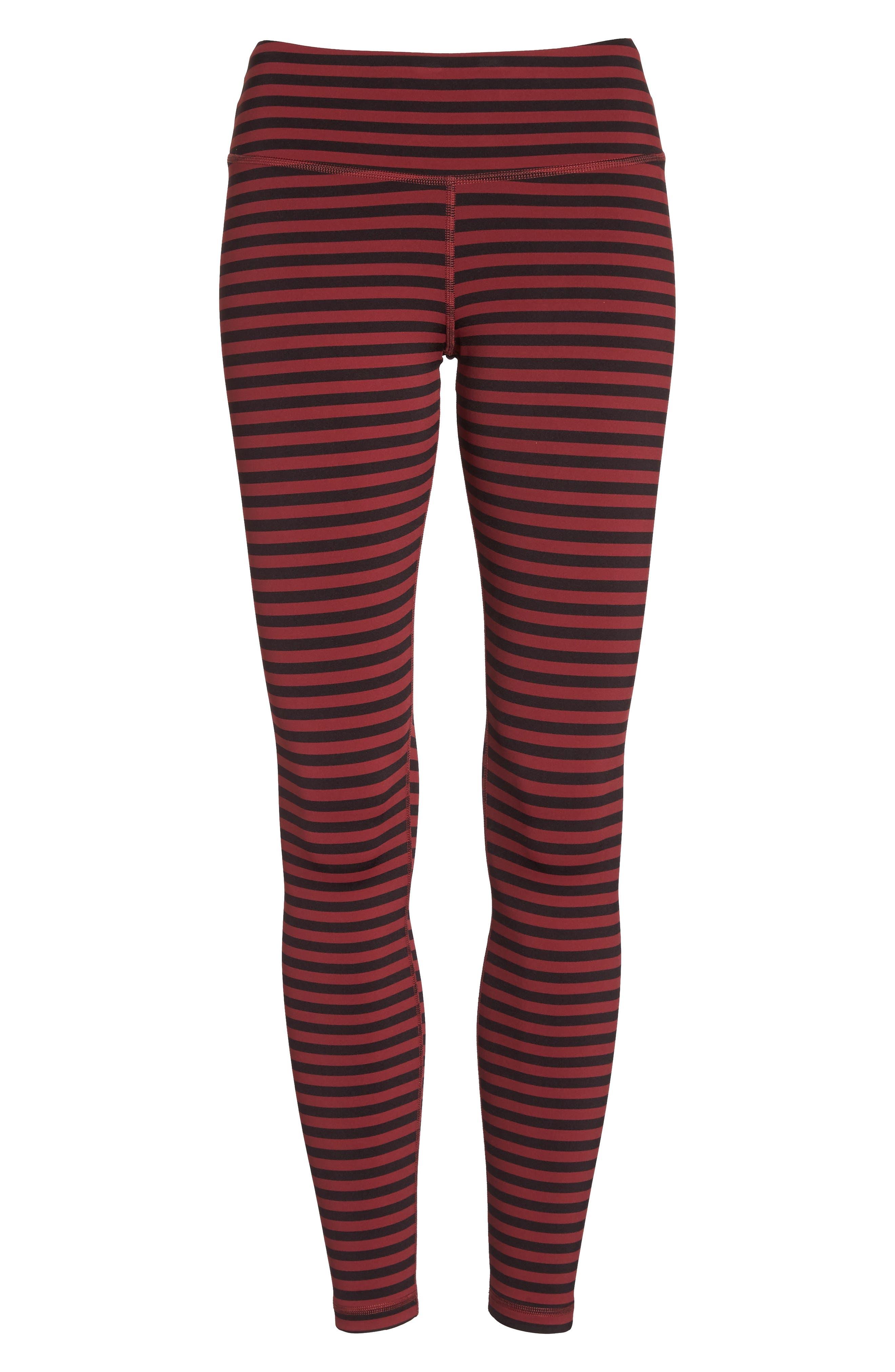 Stripe 7/8 Leggings,                             Alternate thumbnail 7, color,                             601