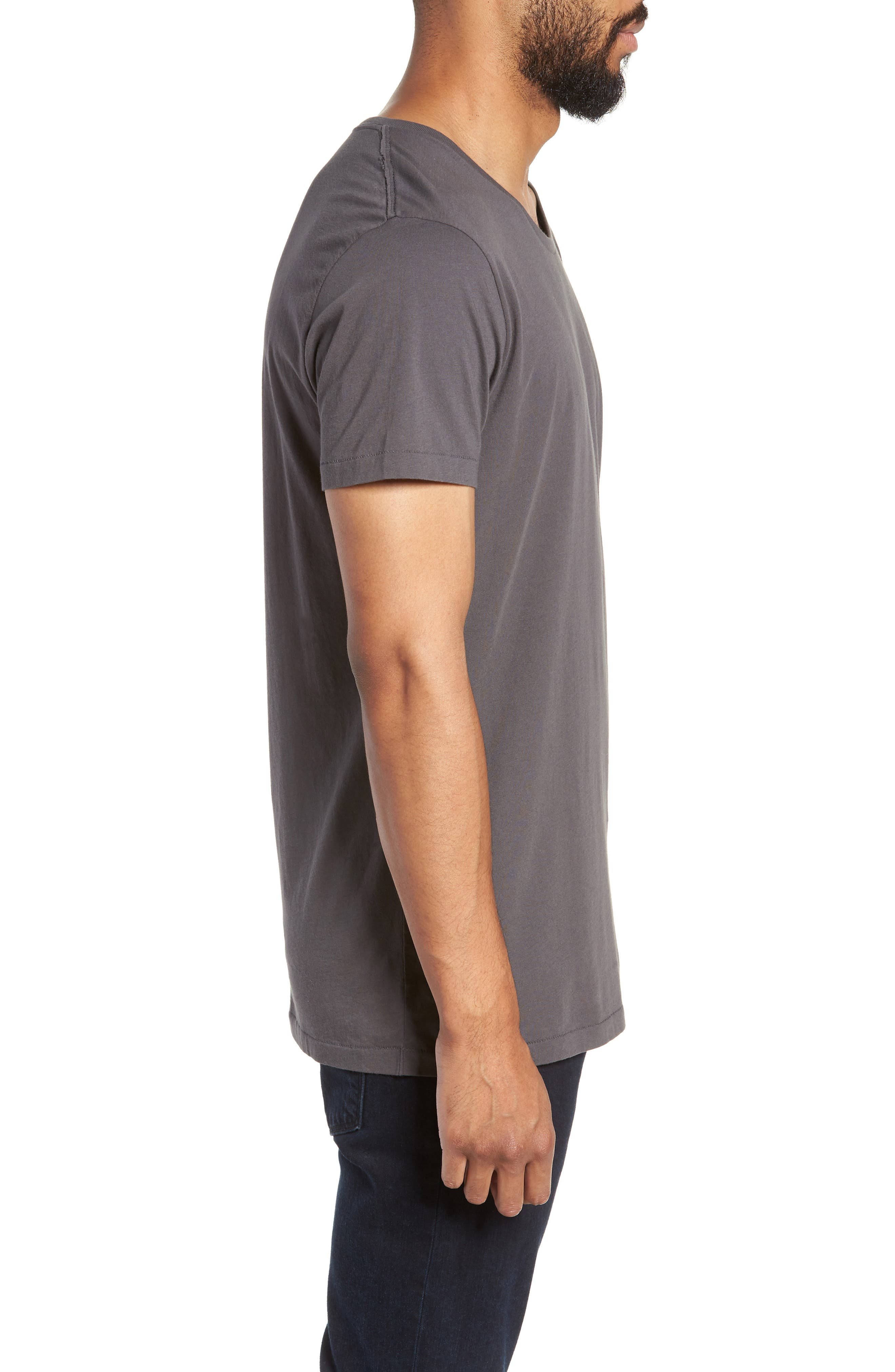 Alias Relaxed Fit T-Shirt,                             Alternate thumbnail 3, color,                             DARK ANTRACITE