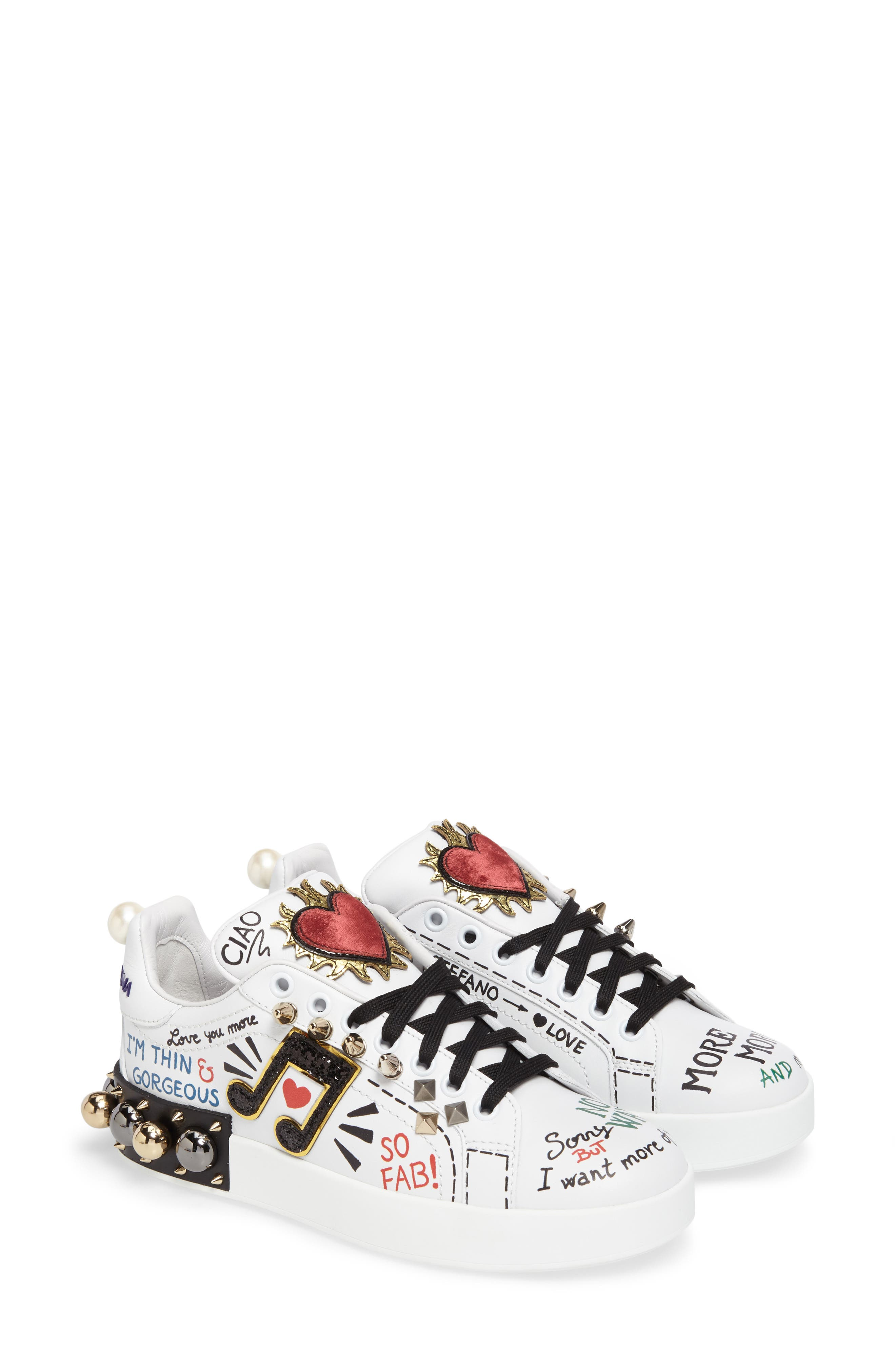 Mixed Media Sneaker,                             Main thumbnail 1, color,                             100