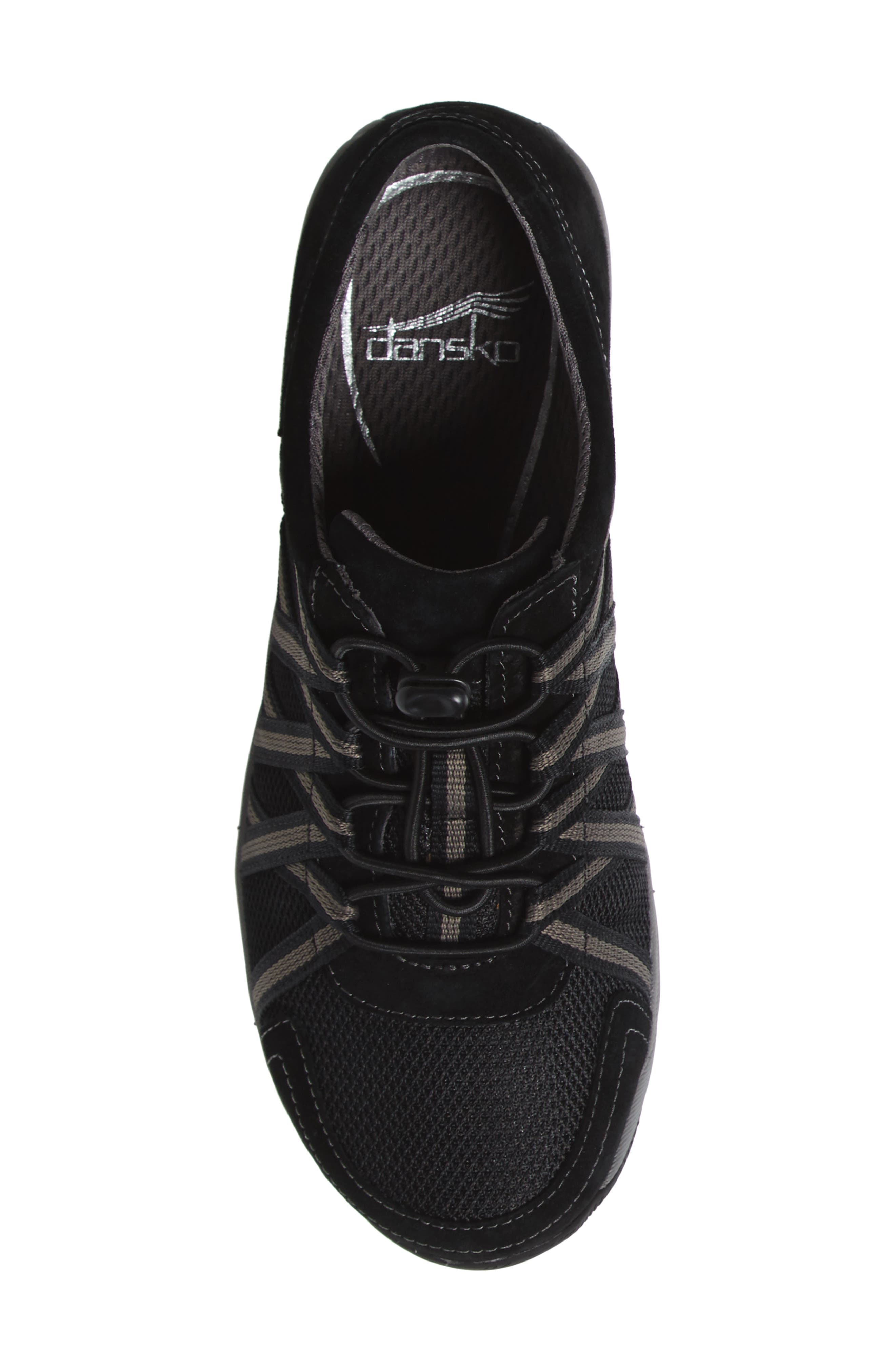 Halifax Collection Honor Sneaker,                             Alternate thumbnail 5, color,                             BLACK/ BLACK SUEDE
